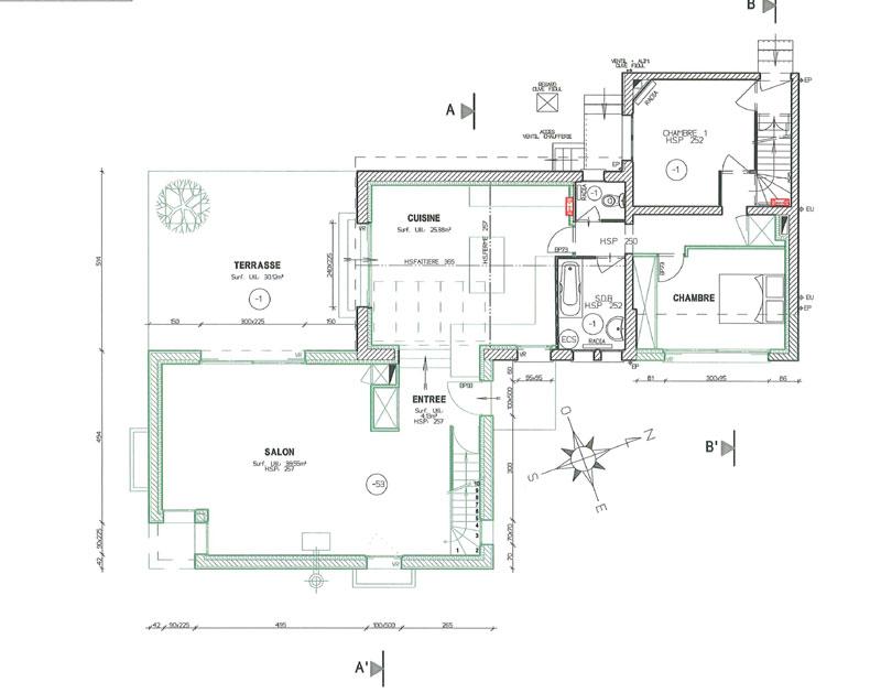 Plan Maison Sud Ouest Rf Plan Maison Neuf T Villaz De M With Plan