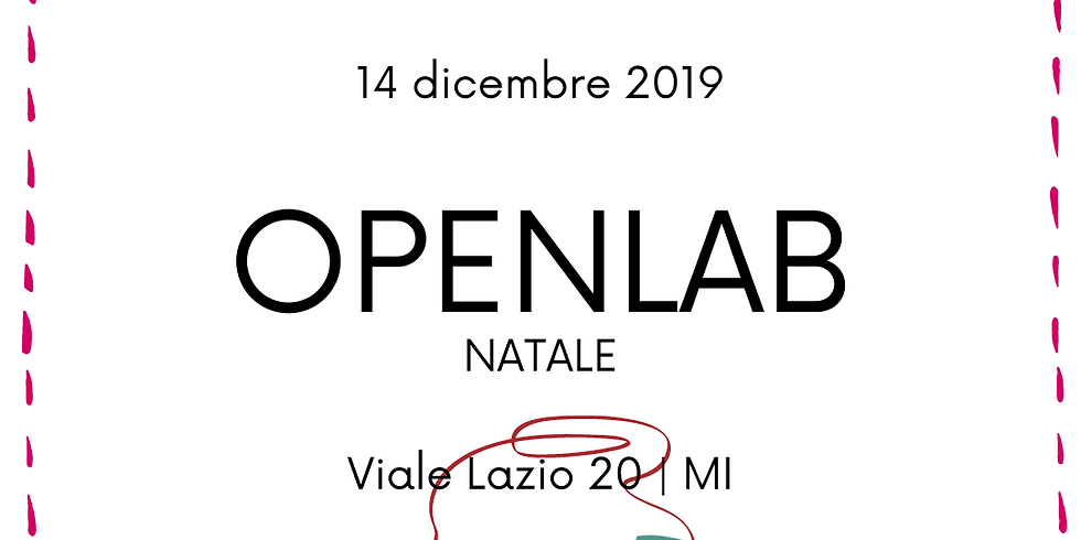OpenLab Natale 2019
