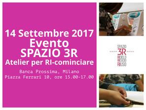 """SAVE THE DATE  """"Evento Spazio3R"""""""