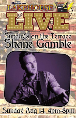 Shane Gamble Live 11x17
