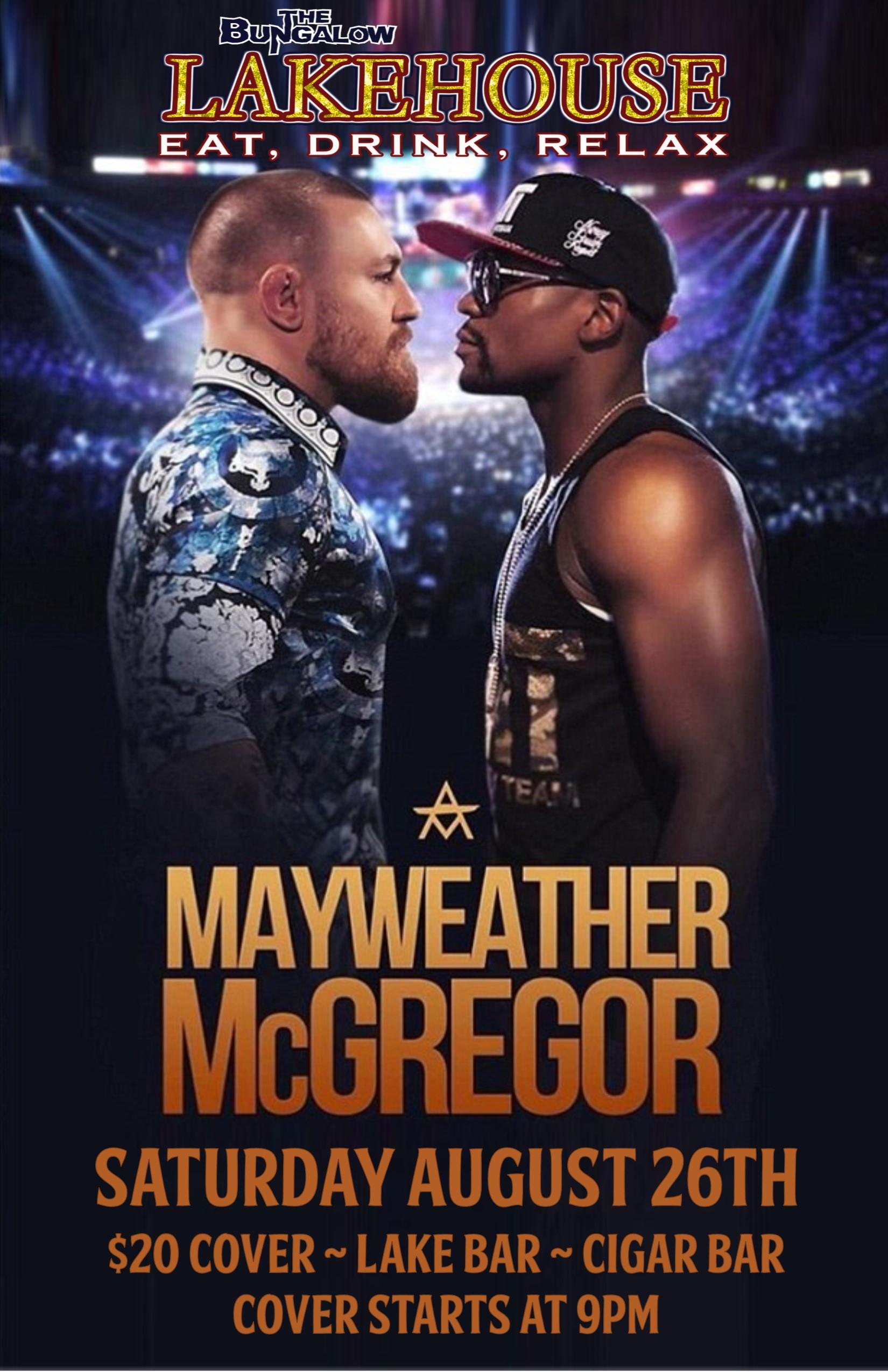 Mayweather McGregor LH
