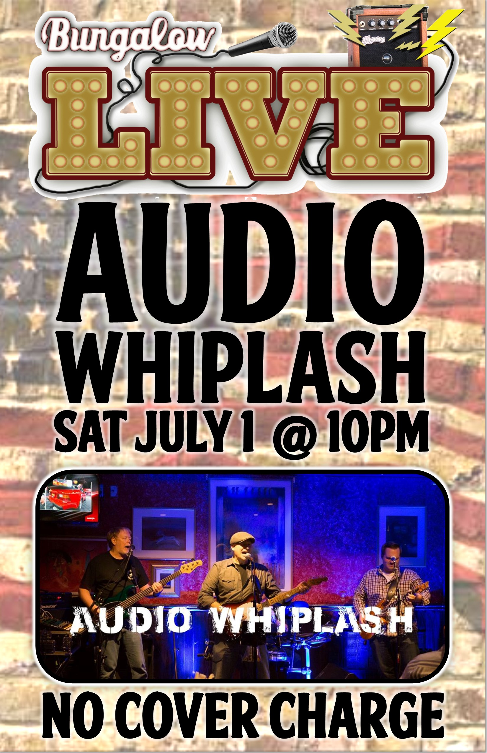 Audio whiplash