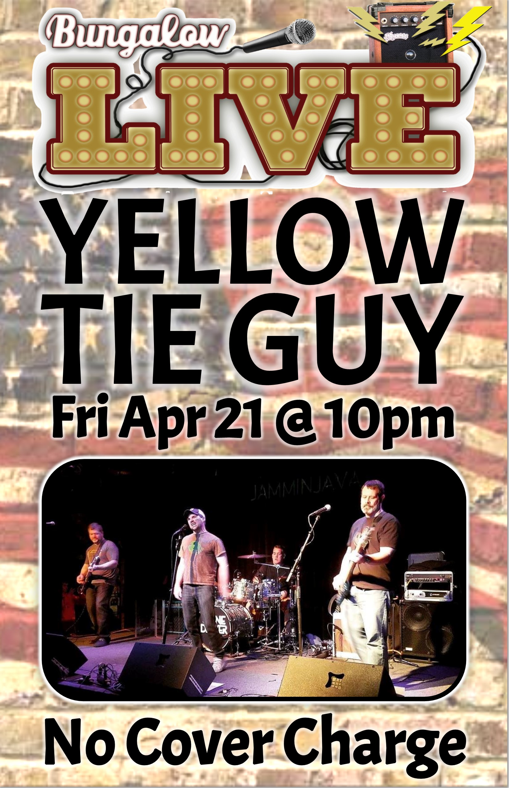 Yellow Tie Guy 11x17