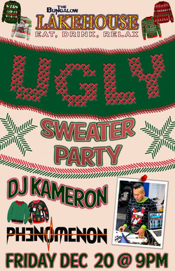 Ugly Sweater party11x17 LH