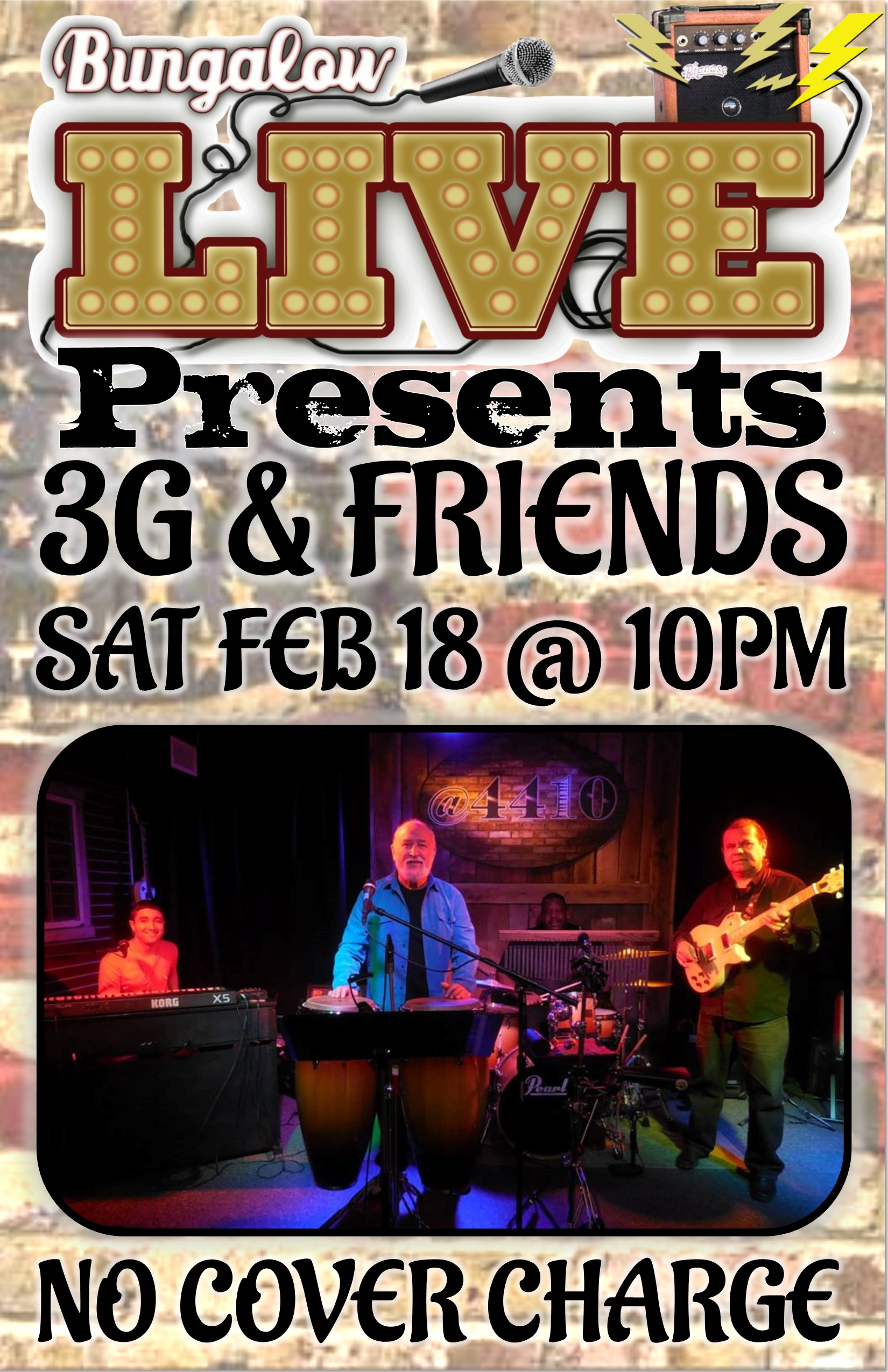 3G & FRIENDS 11X17