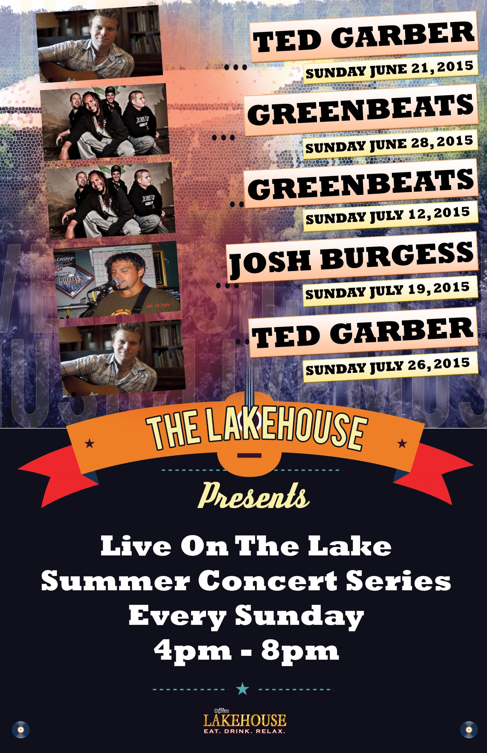 Lakehouse Music JUNE JULY 2015
