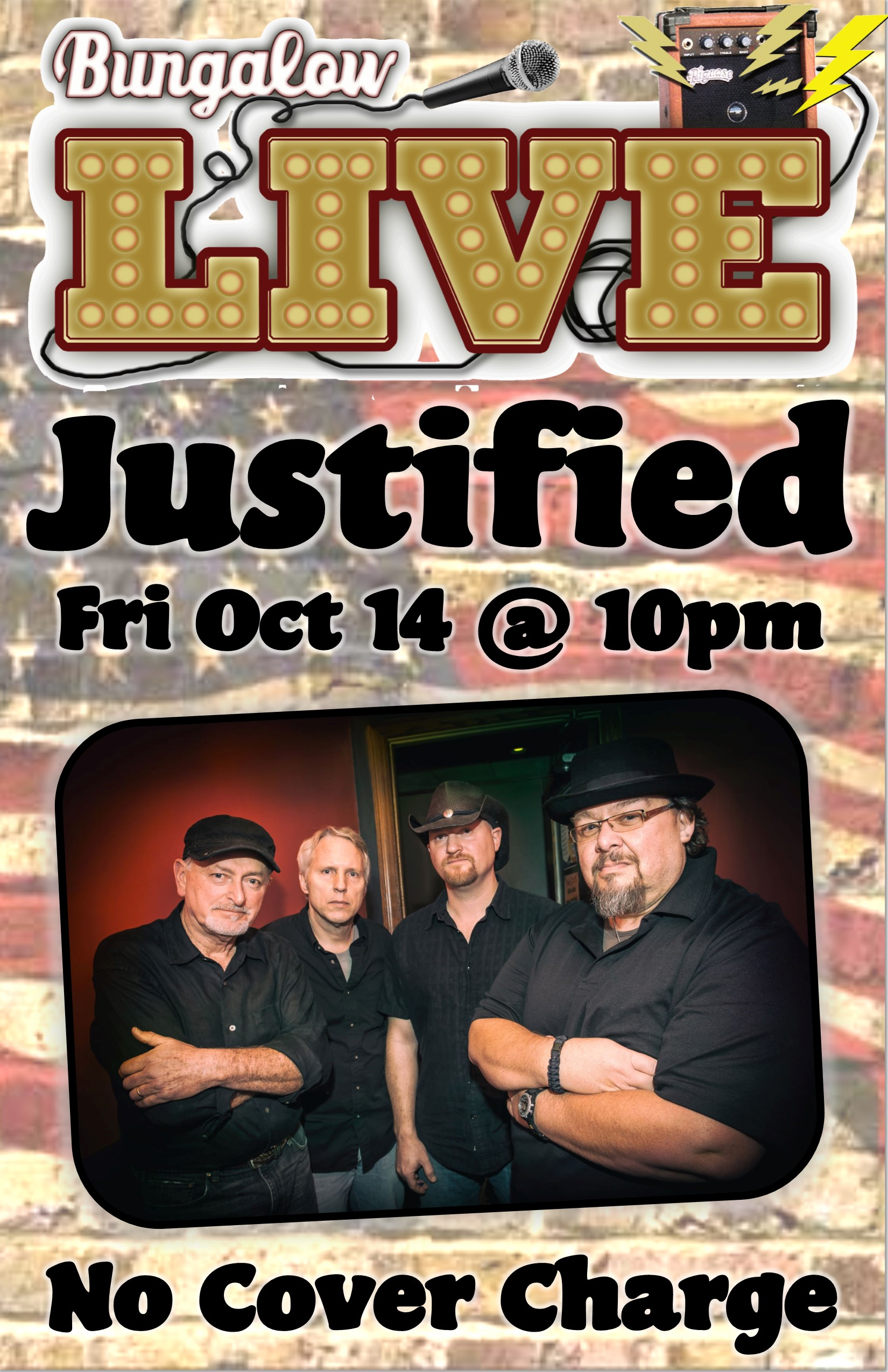 Justified Band 11x17