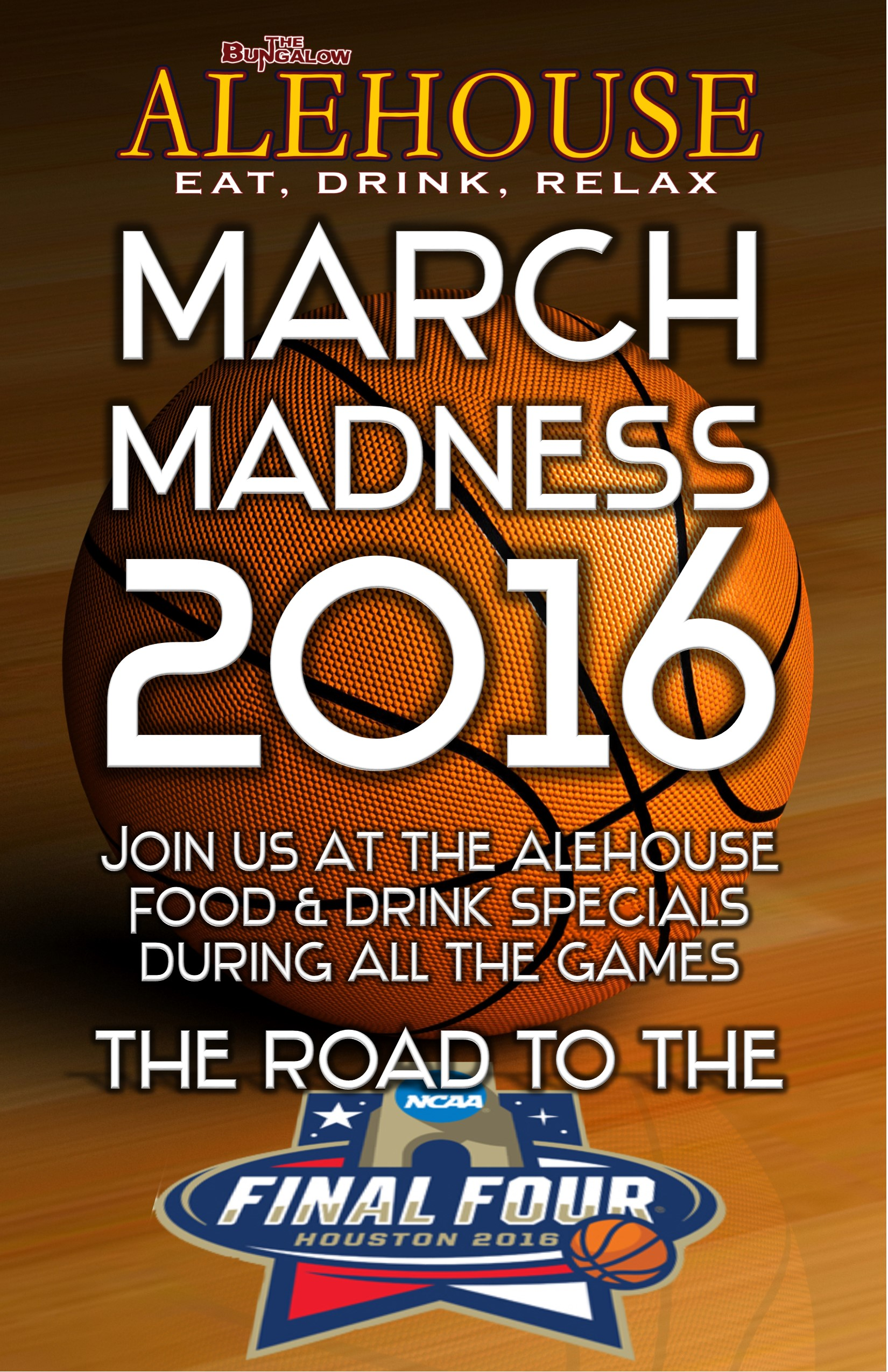 March Madness alehouse