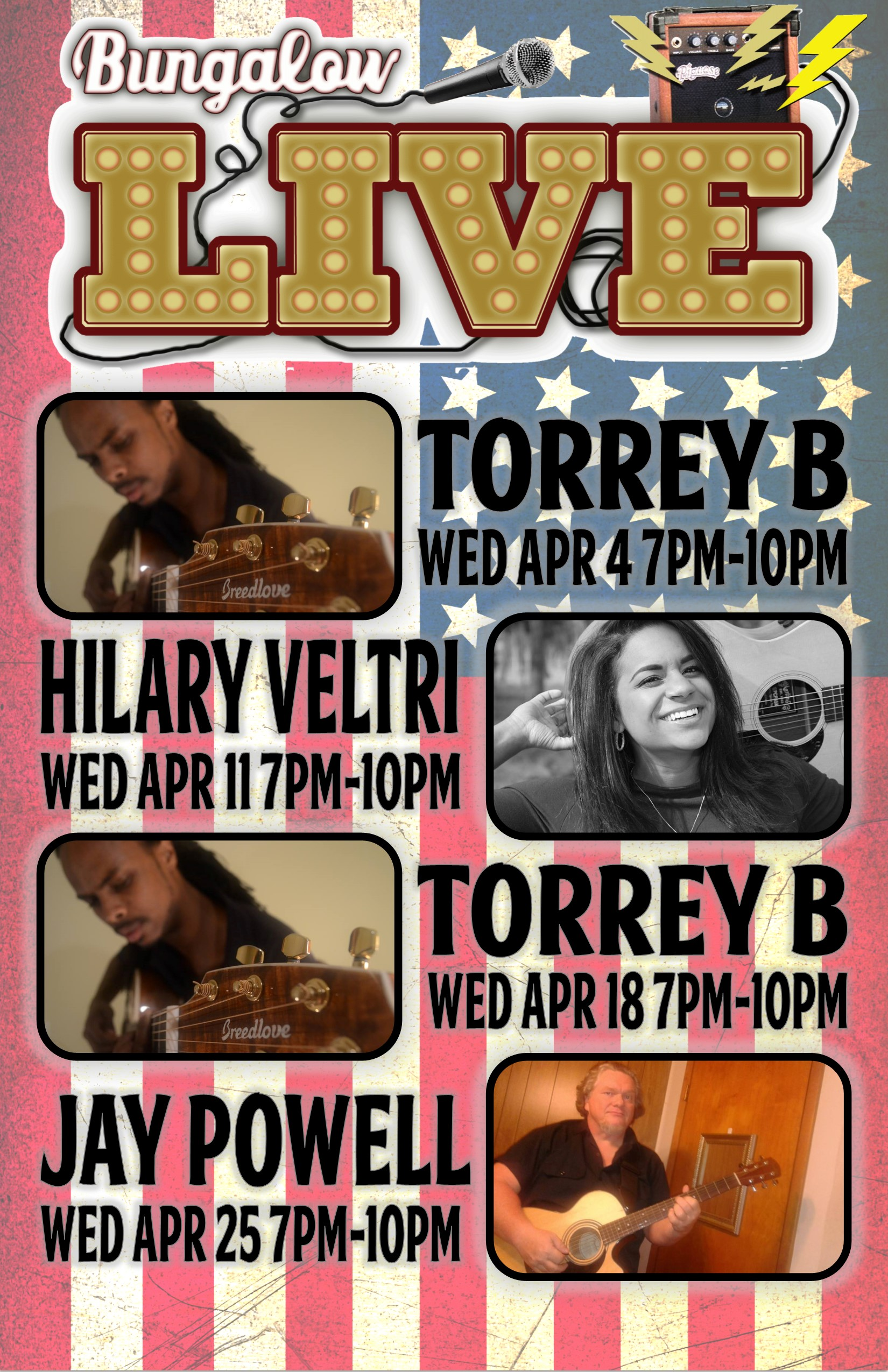 Wed Music april 11x17