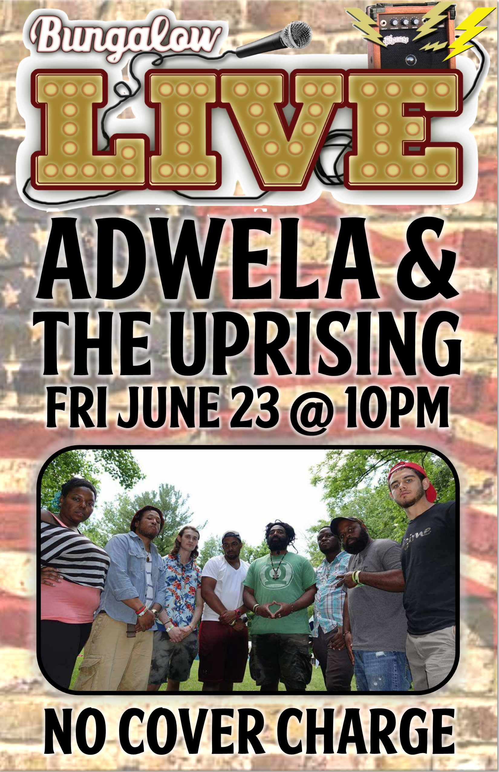 Adwela & The uprising 11x17
