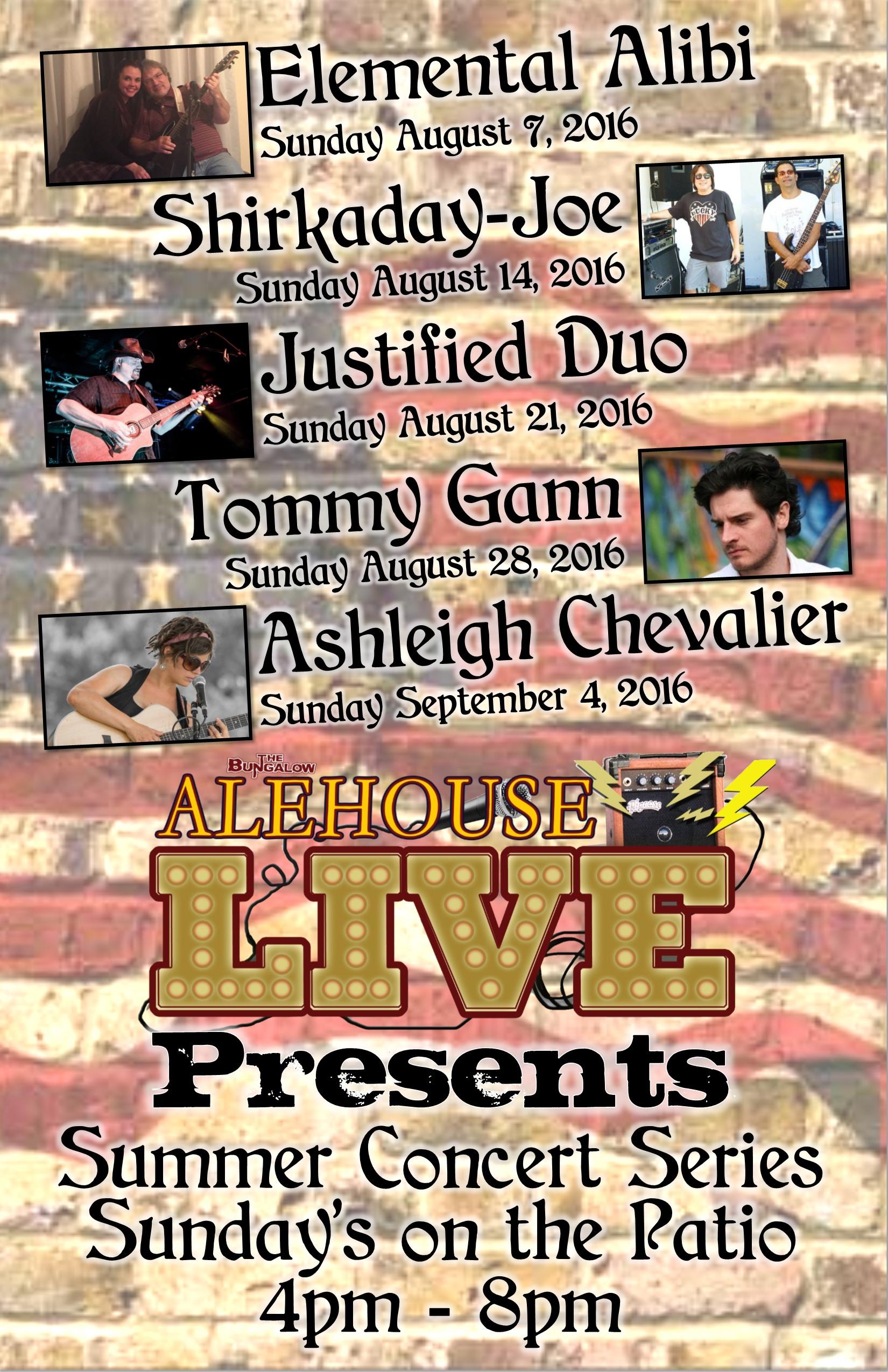 alehouse live August11x17
