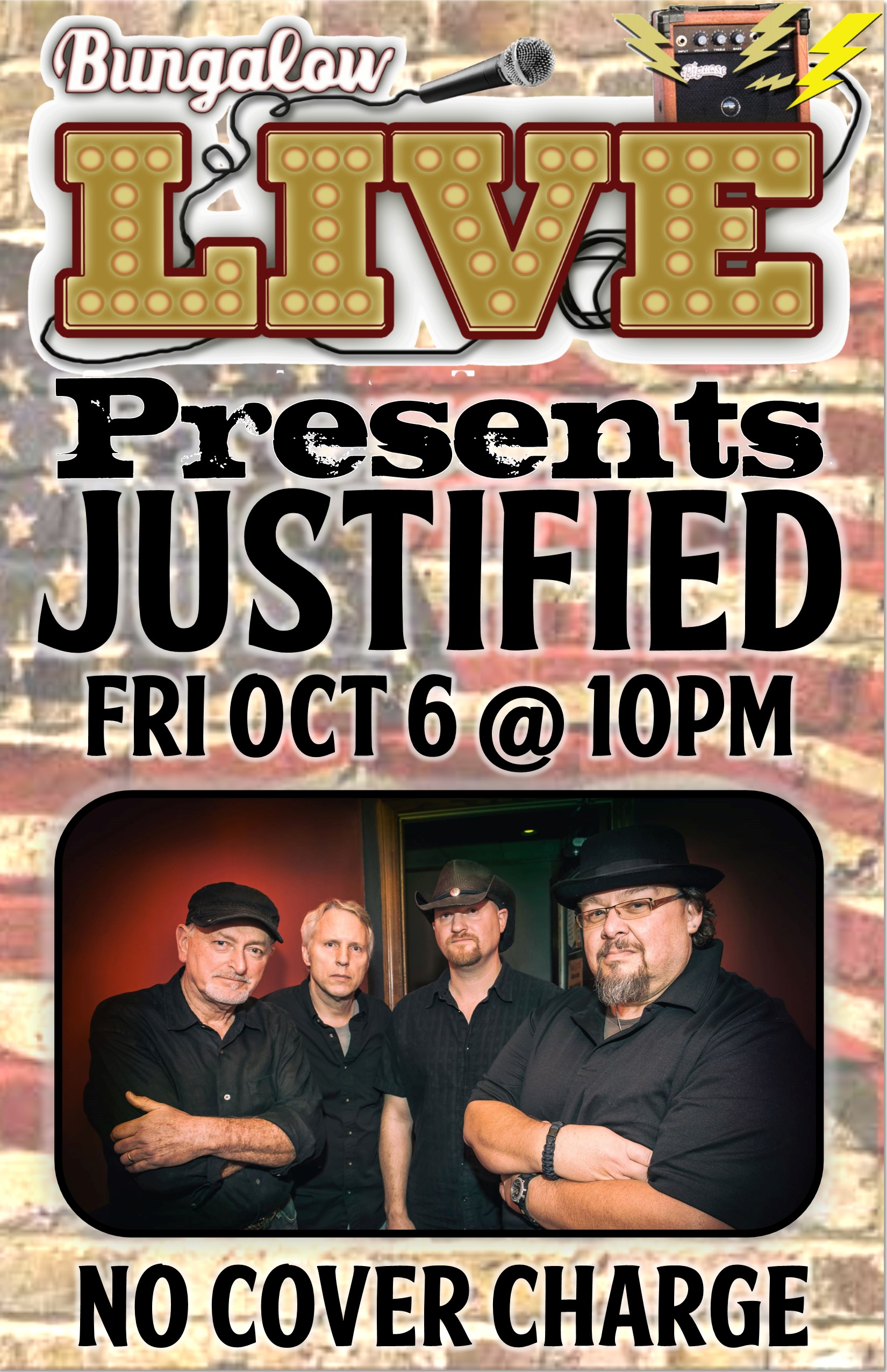 Justified Oct