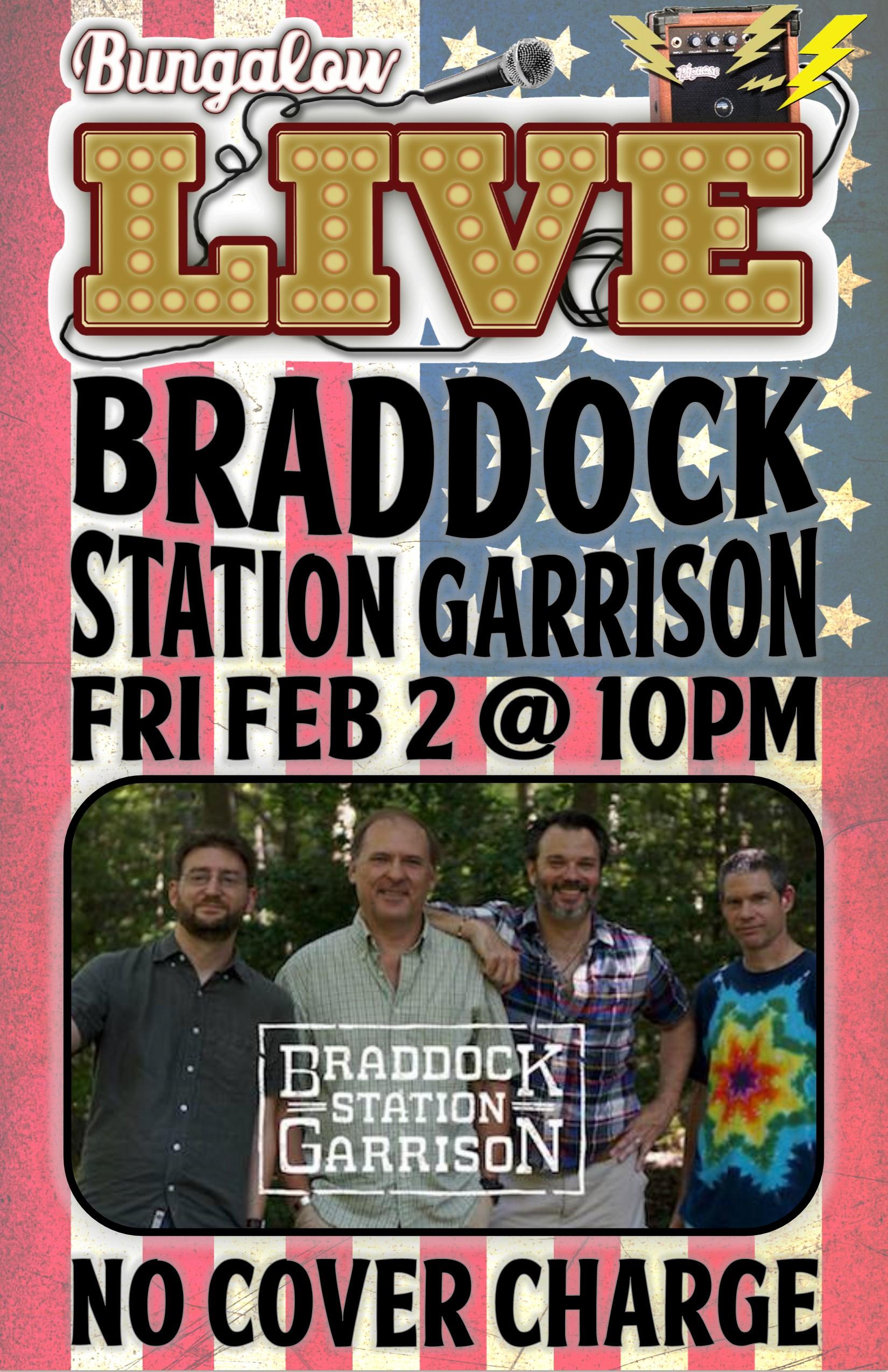 Braddock Station Garrison Feb 2018