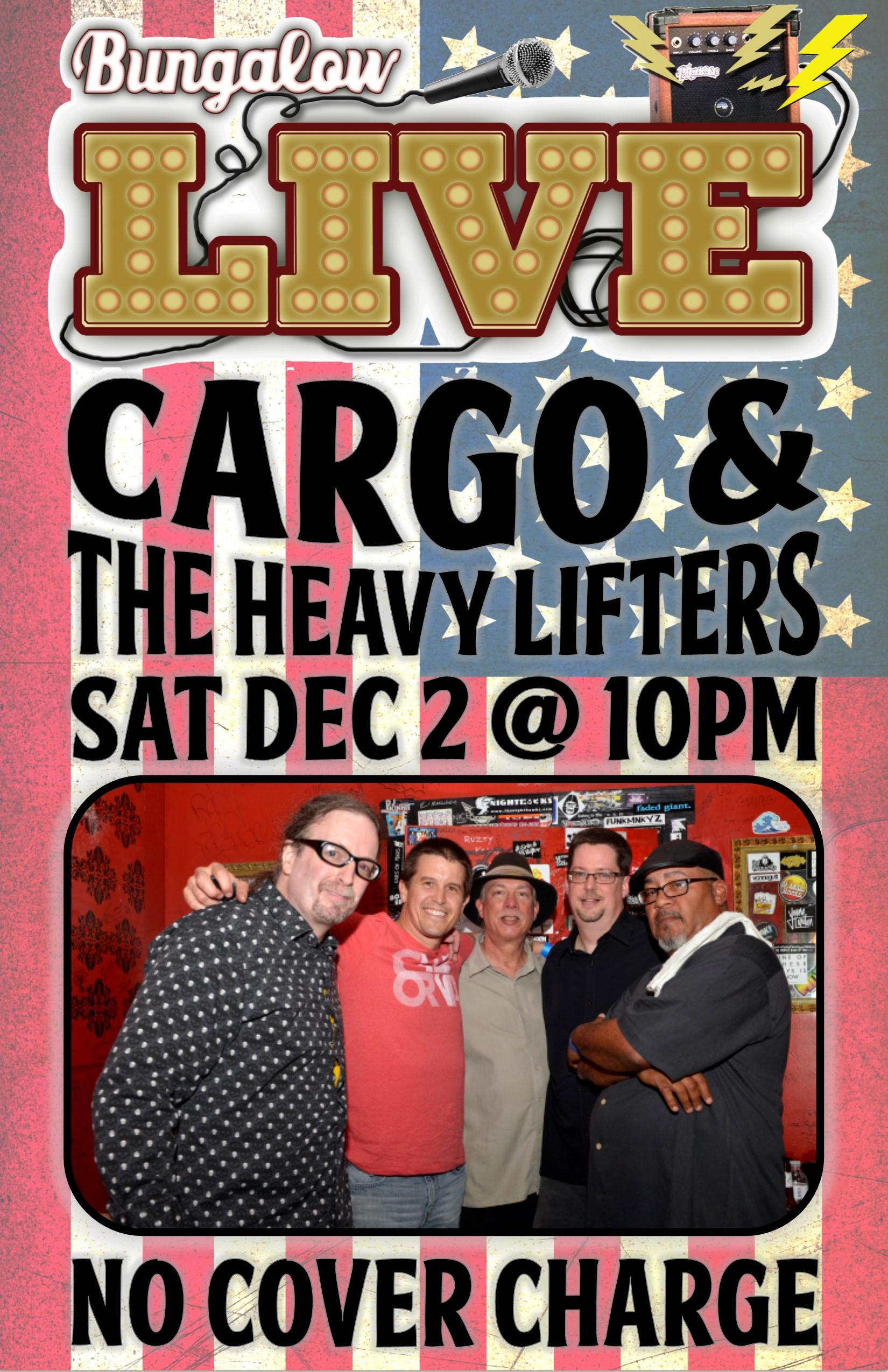 cargo & the heavy lifters Nov 2017