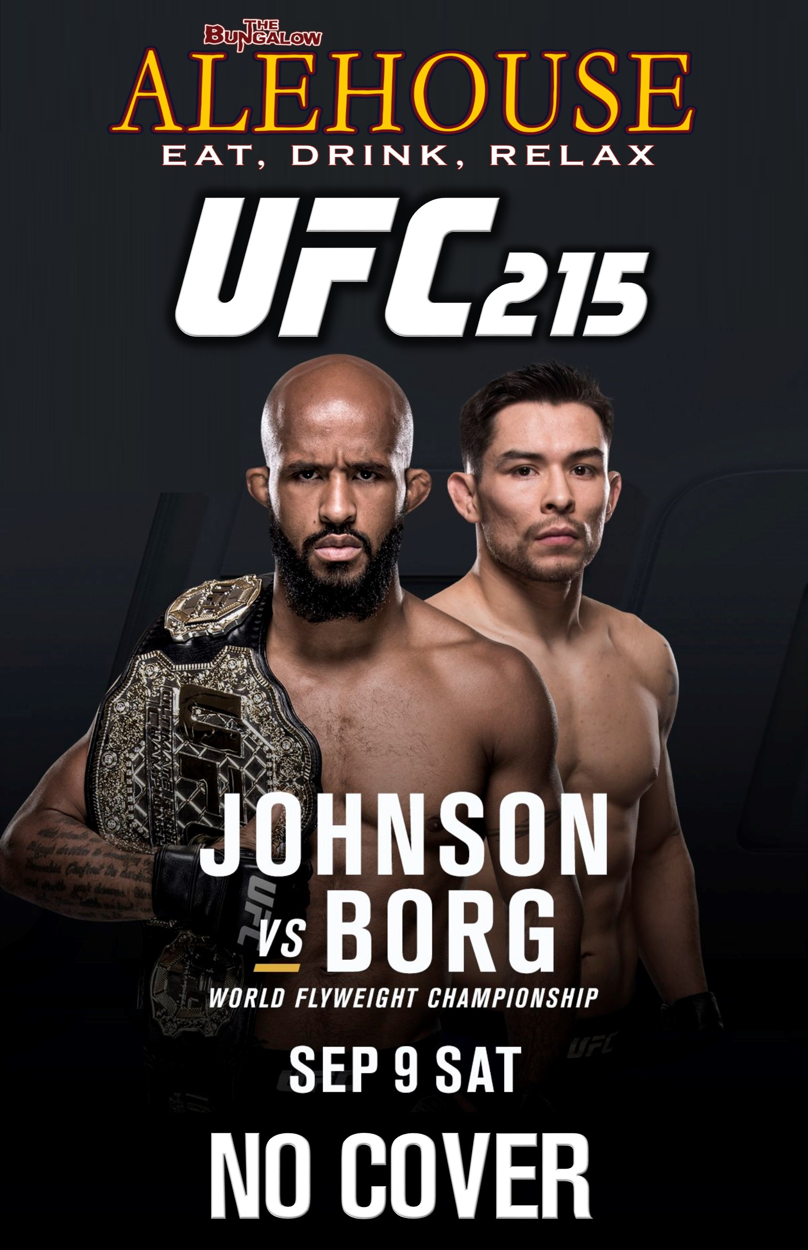 UFC 215 PM
