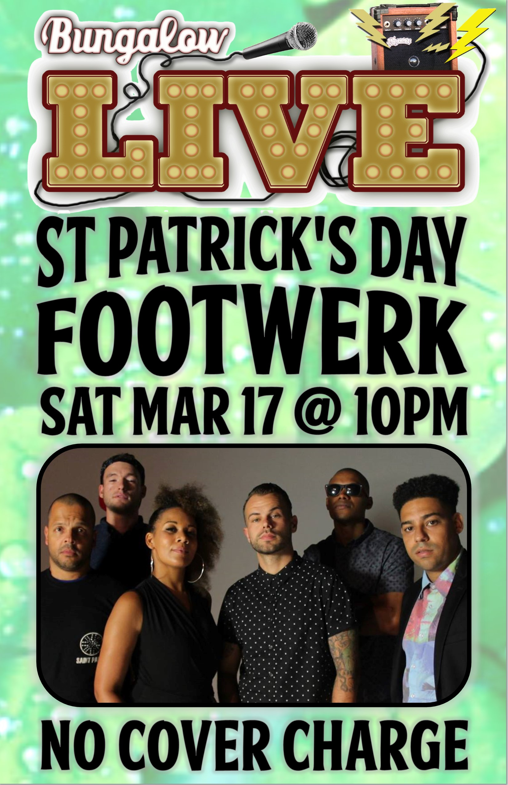 Footwerk St Patricks Day