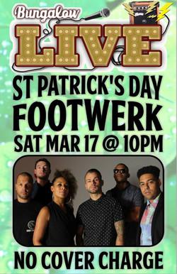 Footwerk St Patricks Day