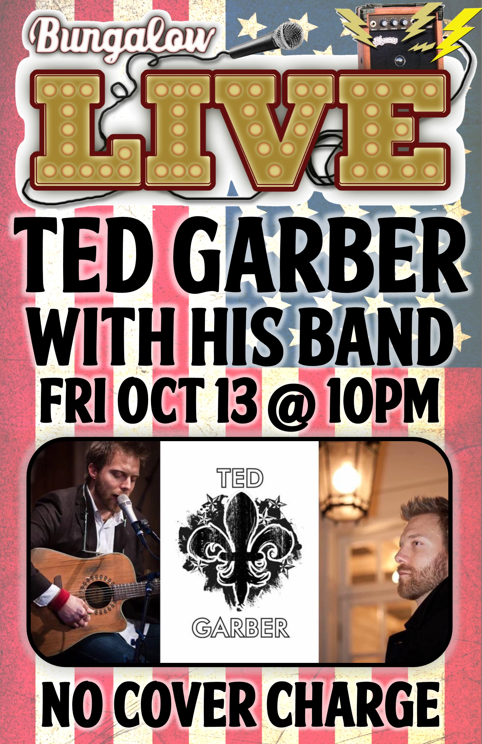 Ted garber band Oct 11X17