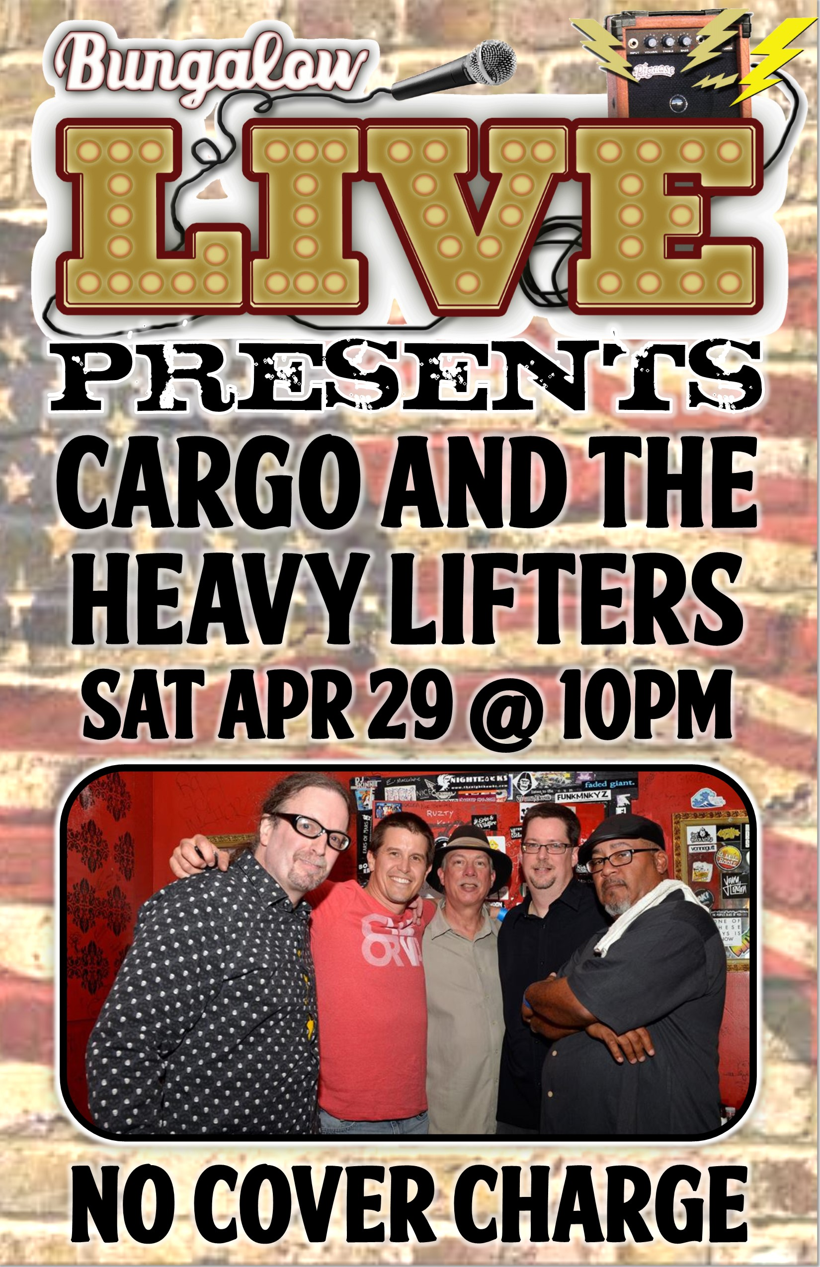 Cargo and the heavy lifters