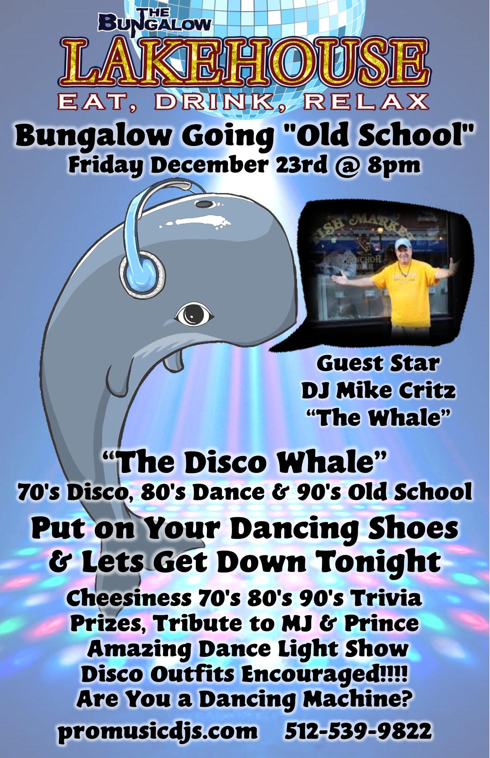 Disco Whale 11x17