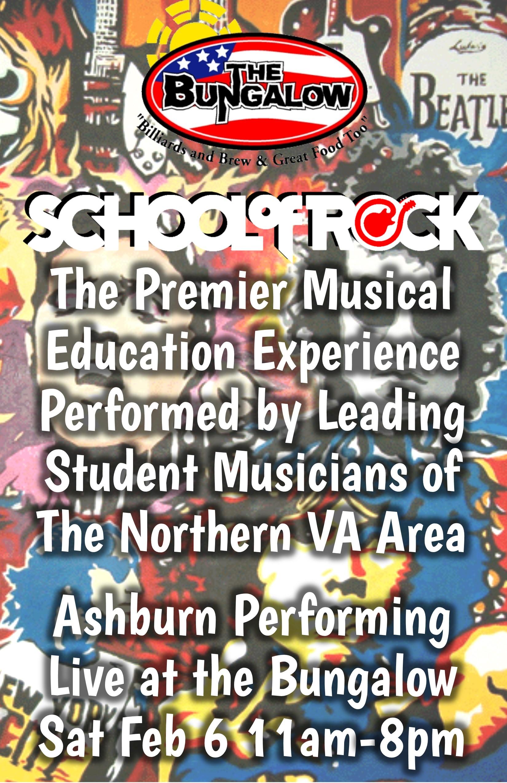 School of Rock Jan 2016