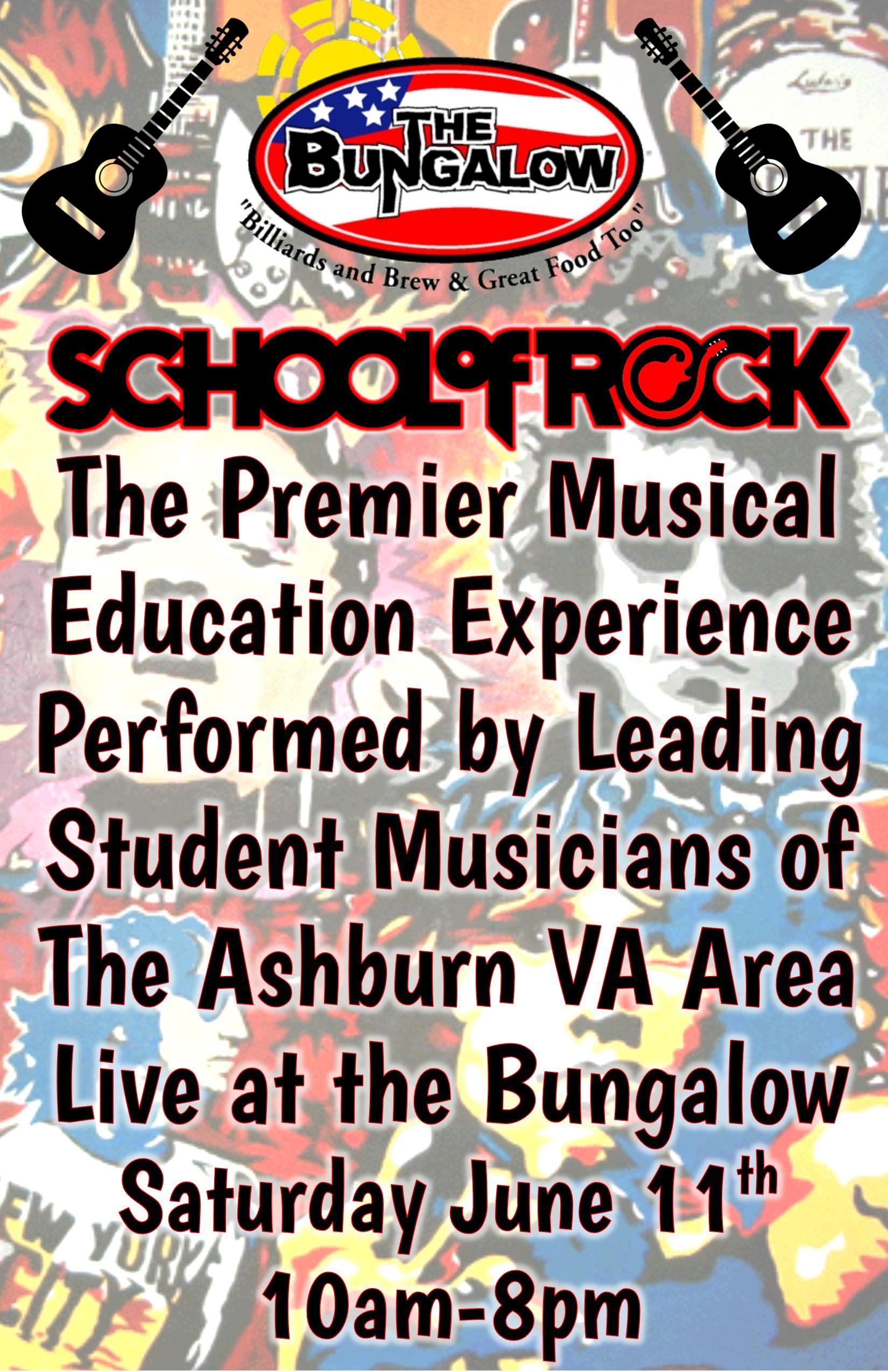 School of Rock june 2016