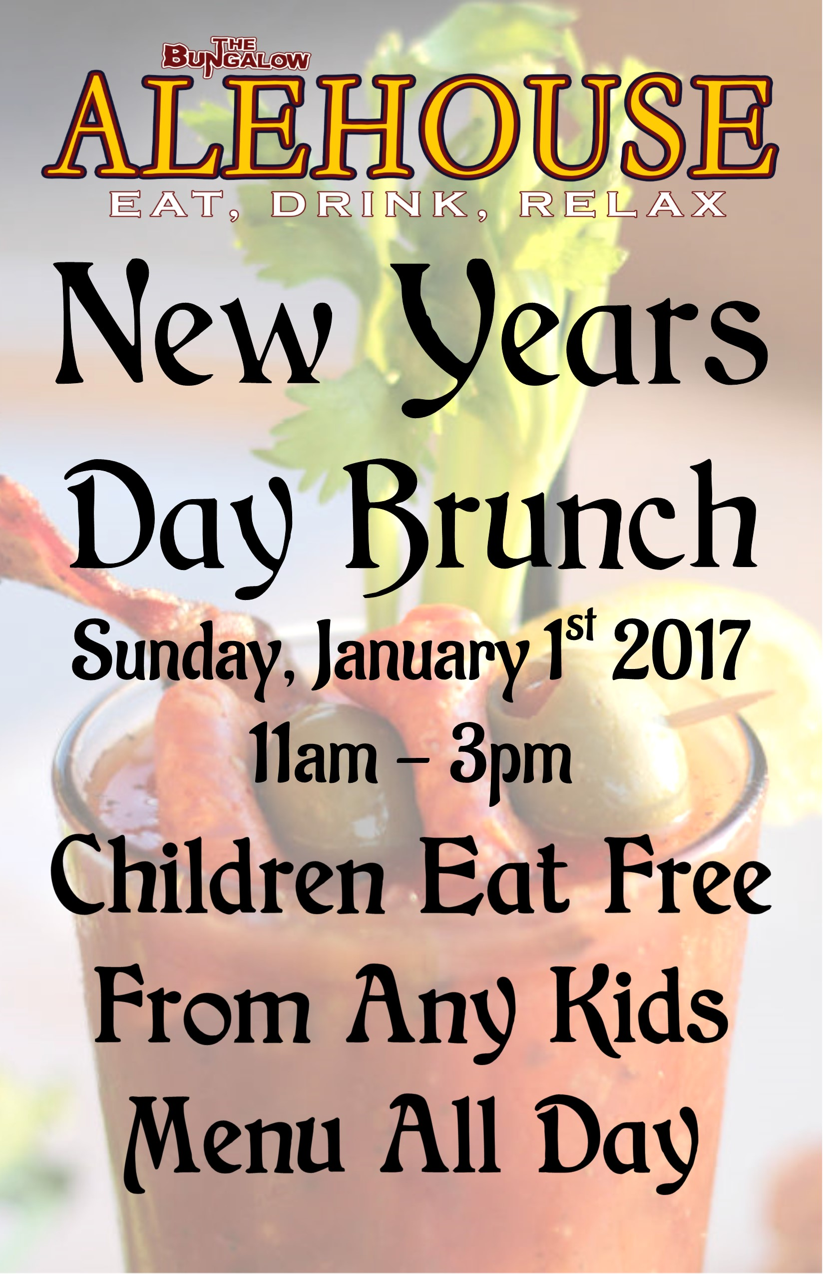 New Years Day Brunch PM