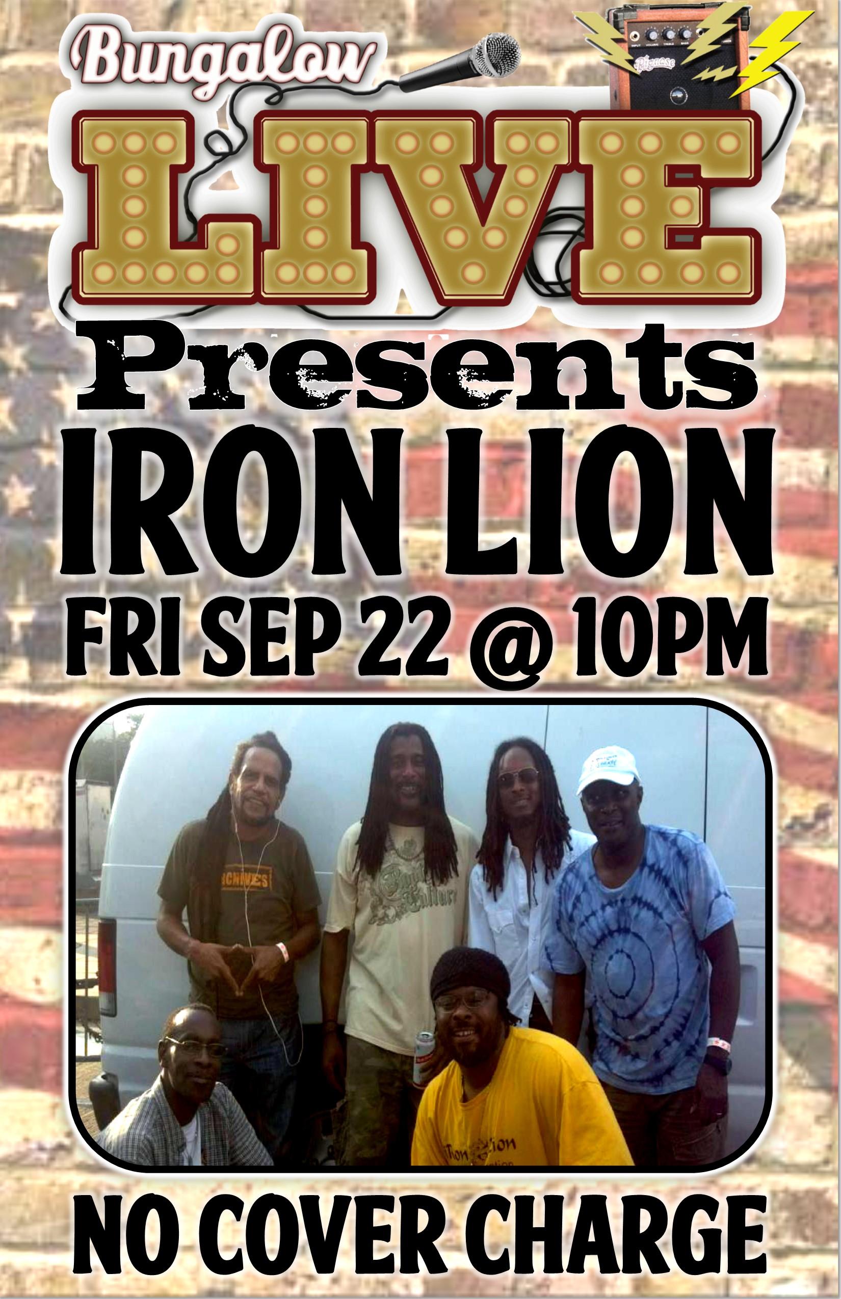 Iron Lion 11x17 sep