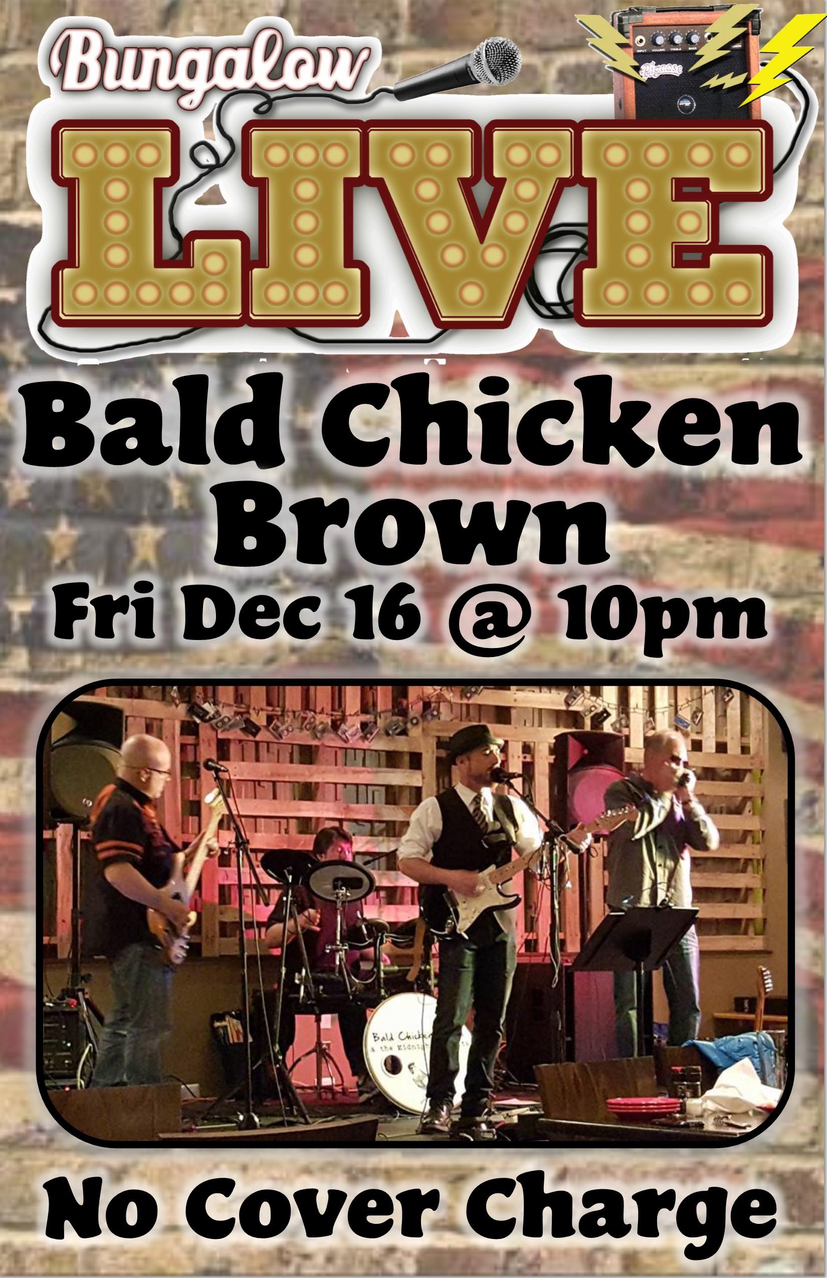 Bald chicken 11x17