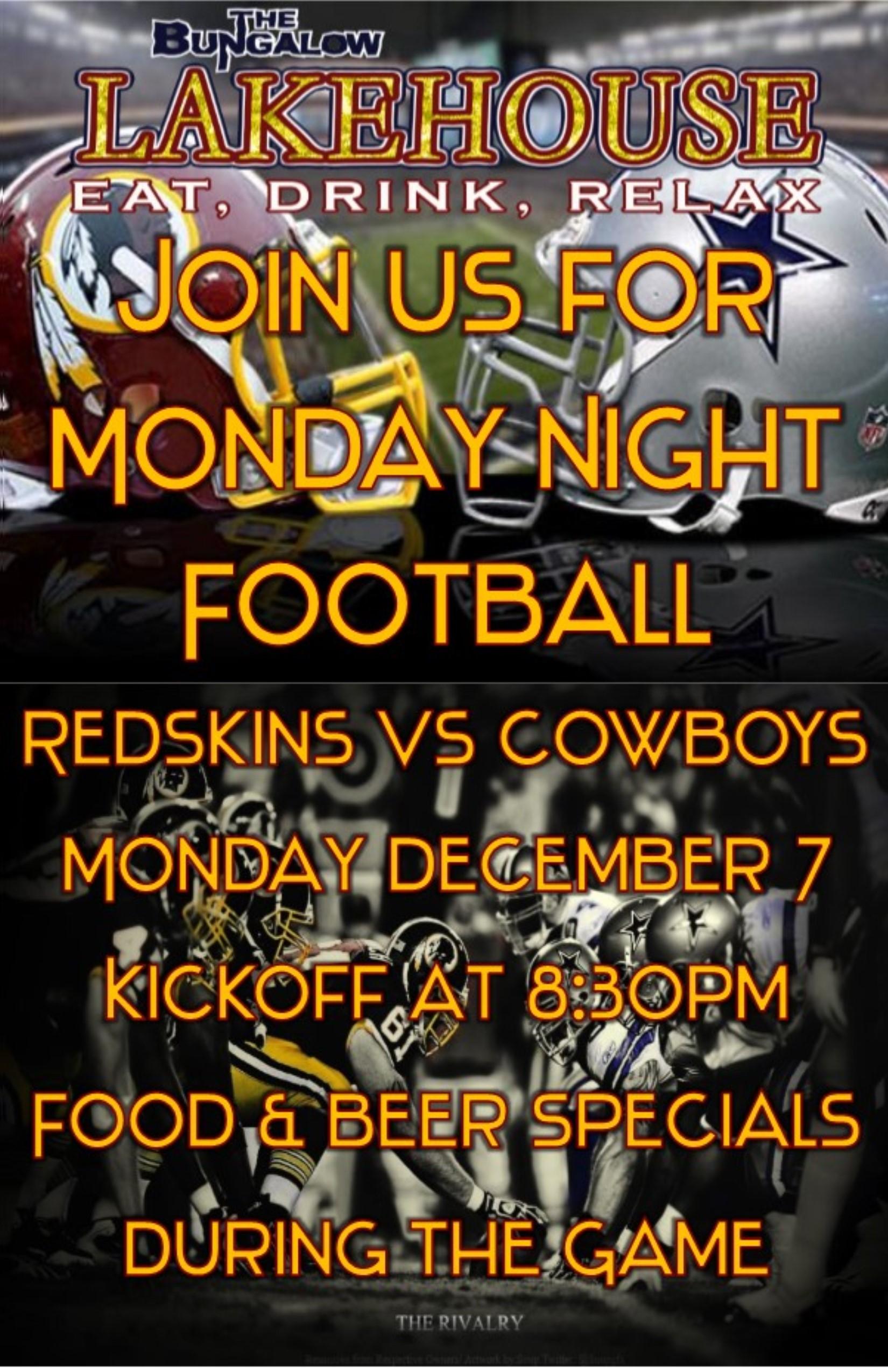 Redskins vs Cowboys 2015