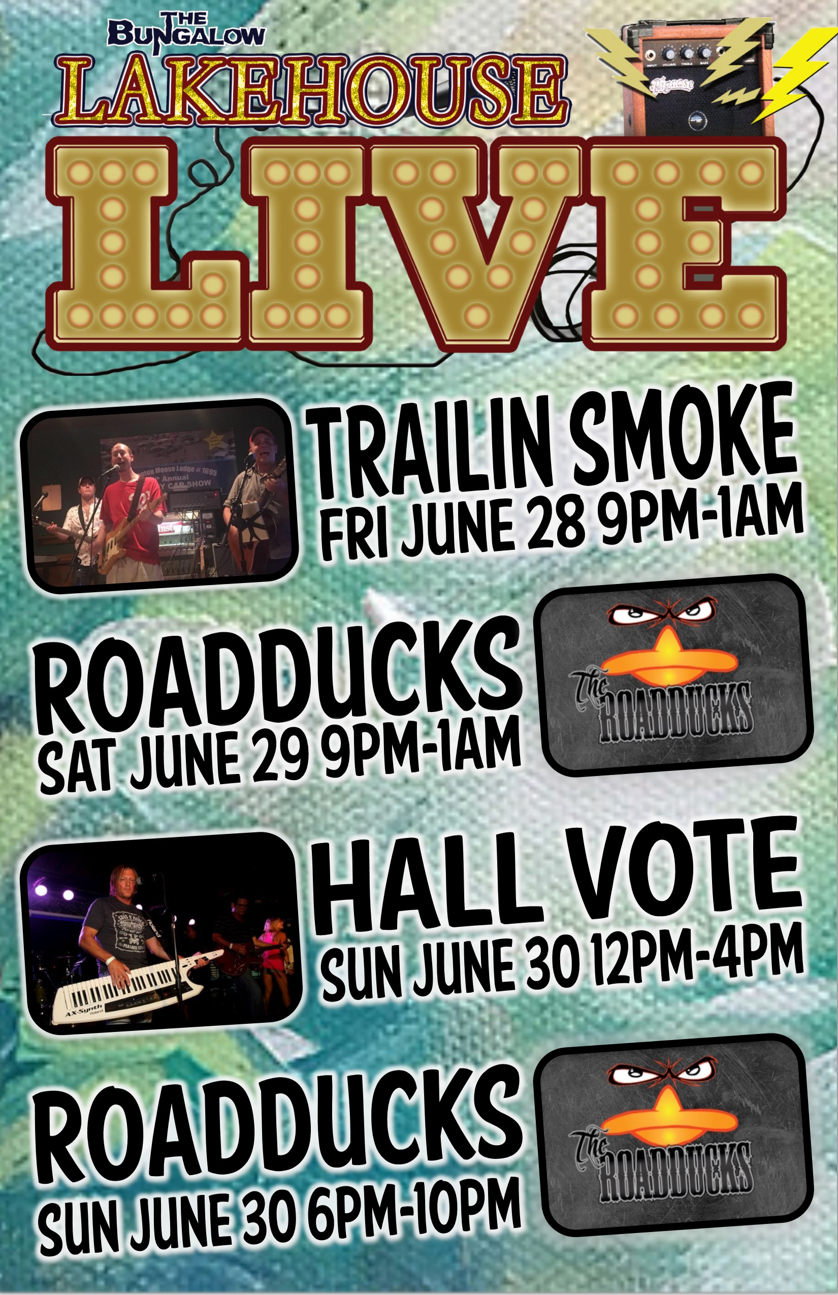 lakehouse Live june week 5 2019