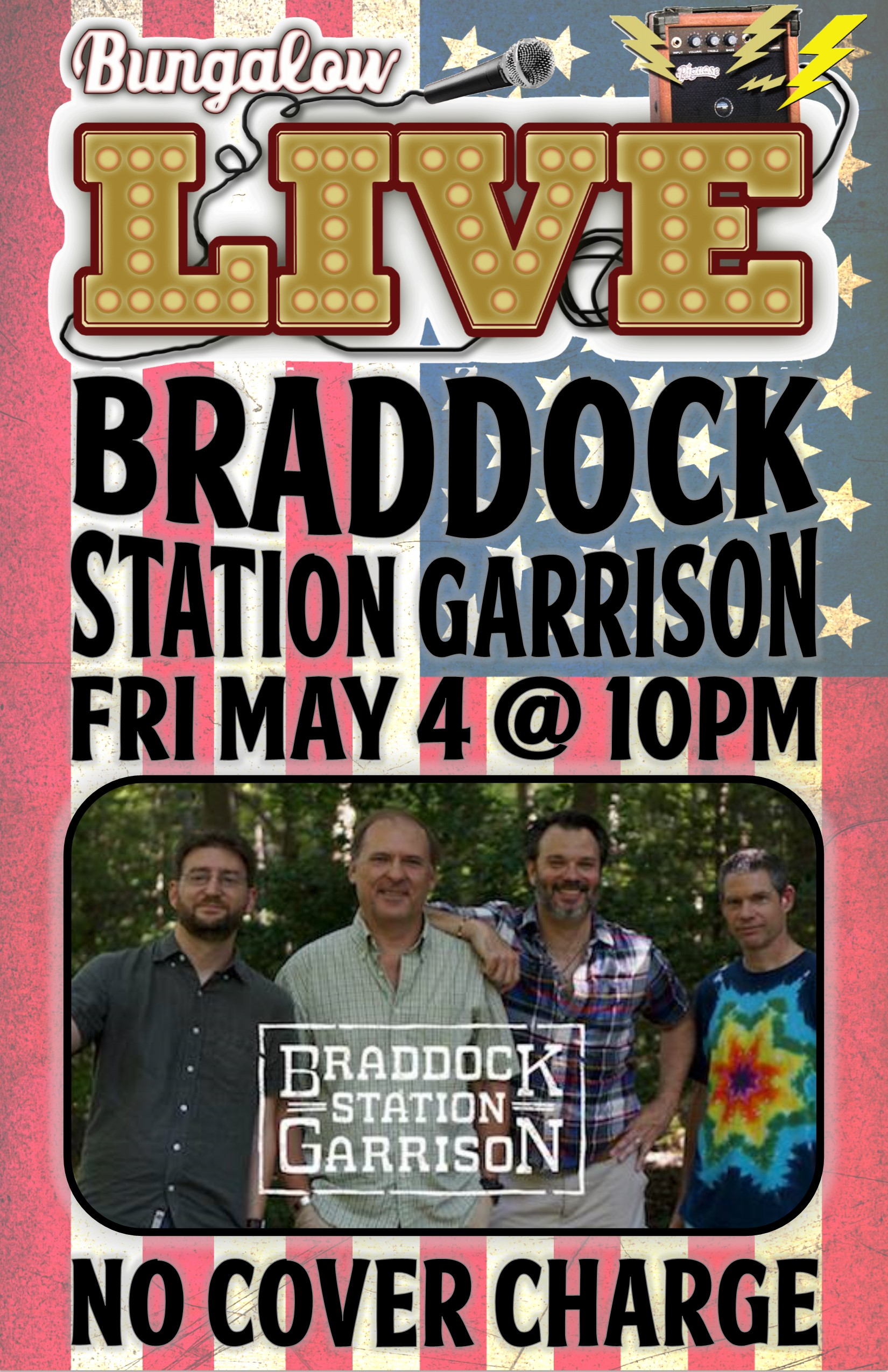 Braddock Station Garrison May 2018