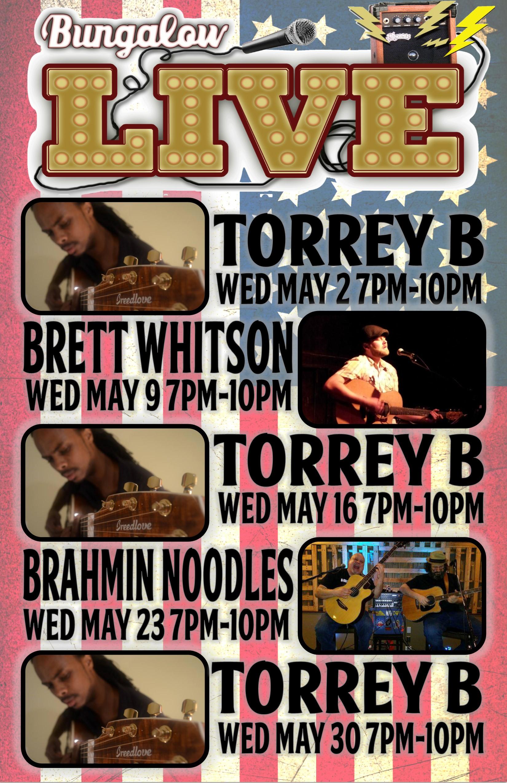 Wed Music May 11x17