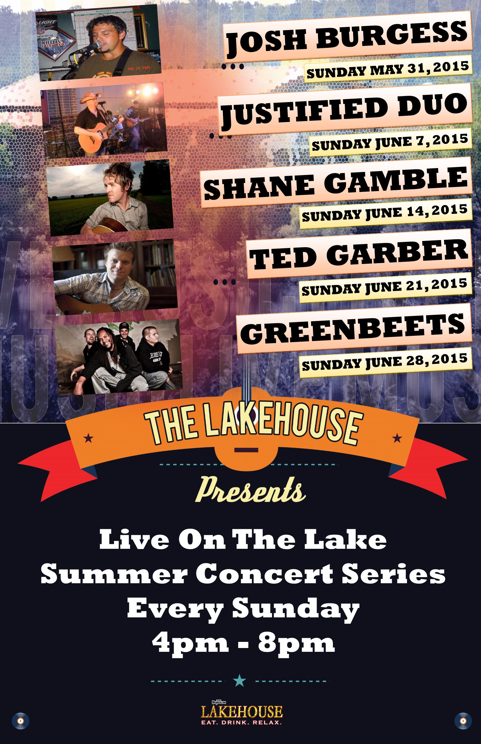 Lakehouse Music May June 2015