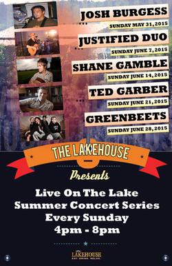 Lakehouse Music May June 2015