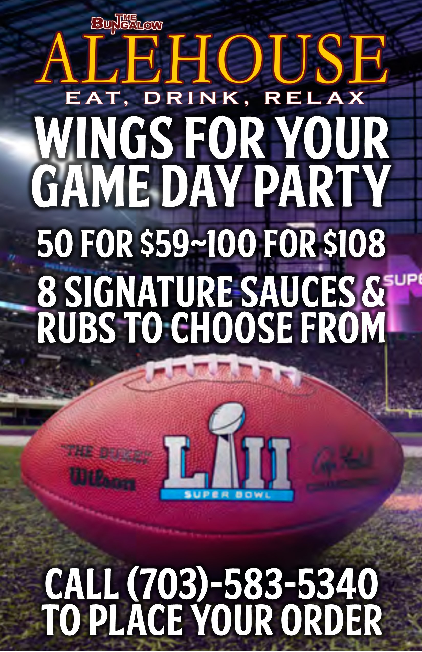 Super Bowl wings PM