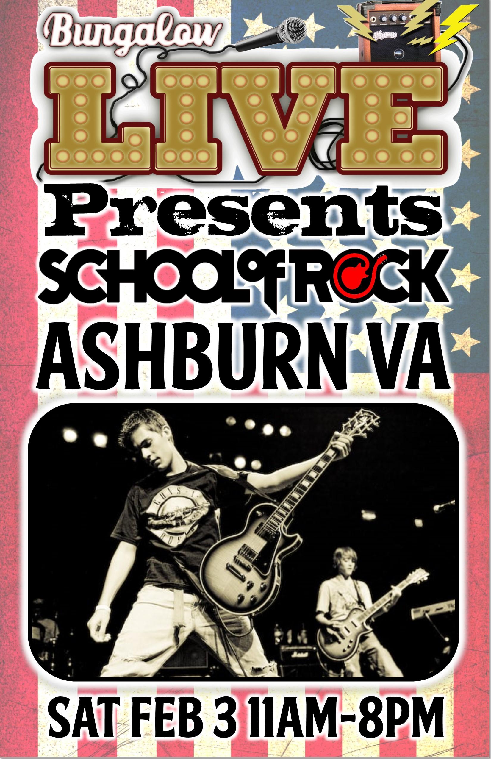 School of Rock Jan 2018