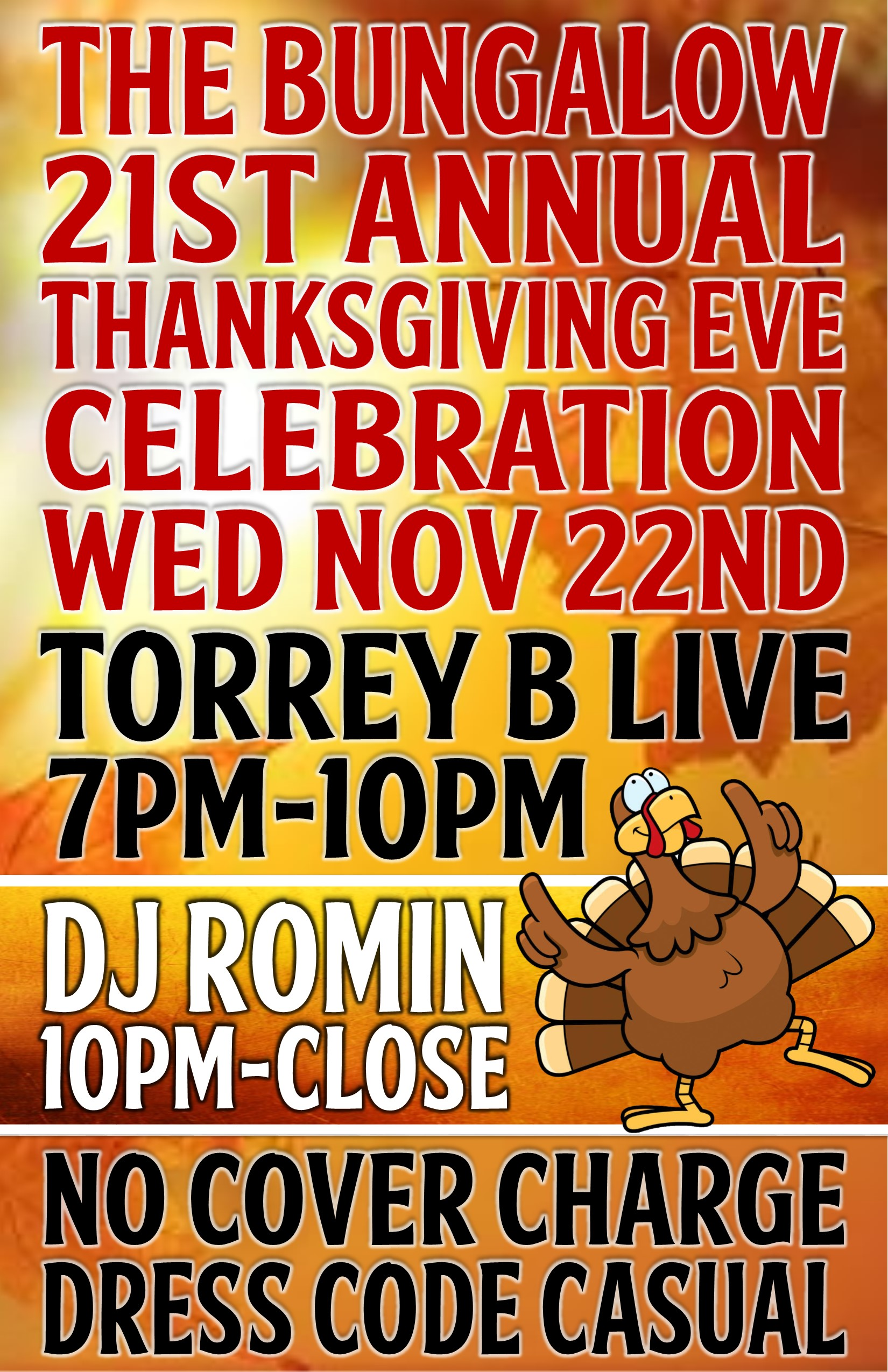 Thanksgiving Eve 2017 CH