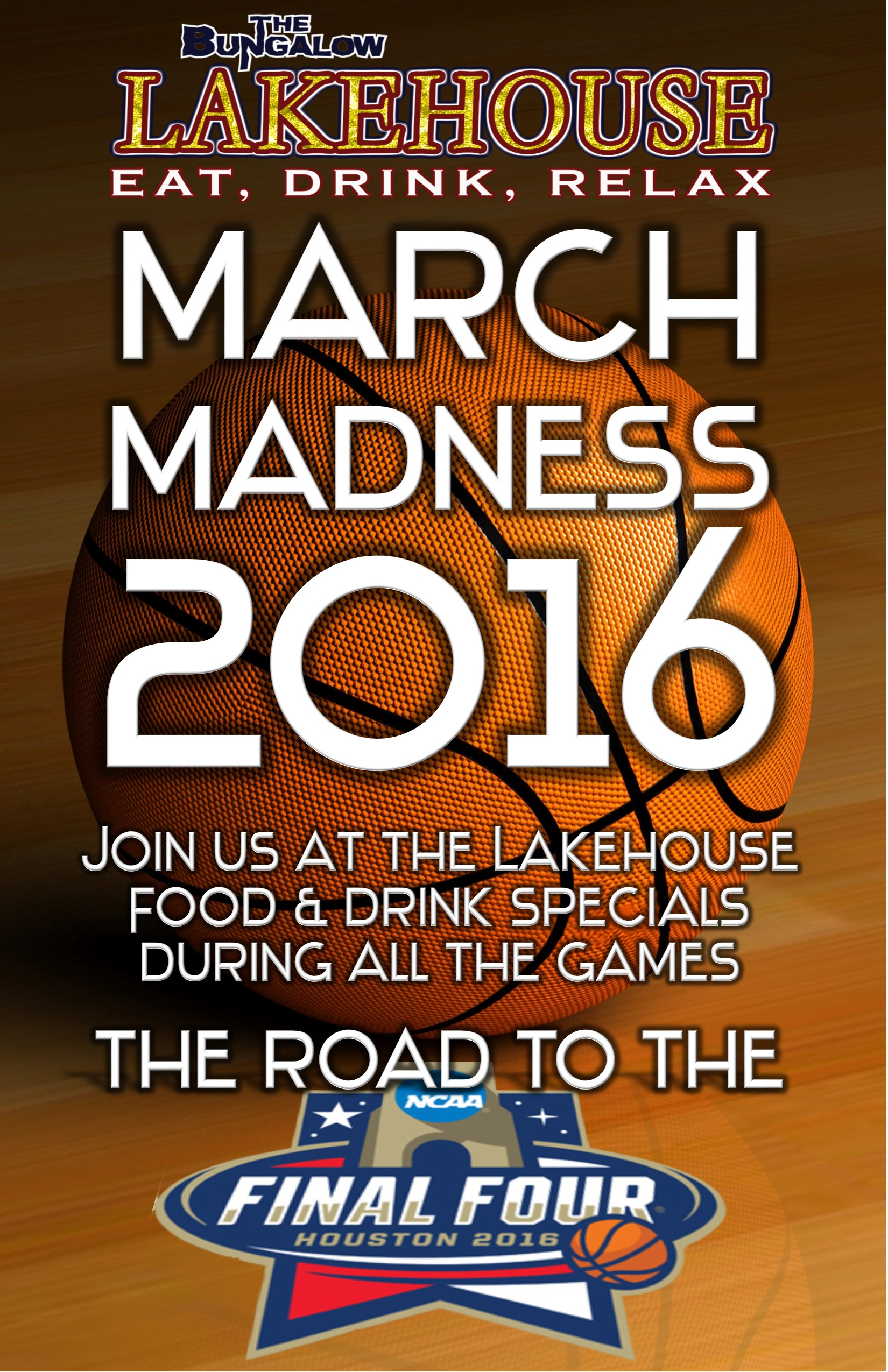March Madness lakehouse 2016