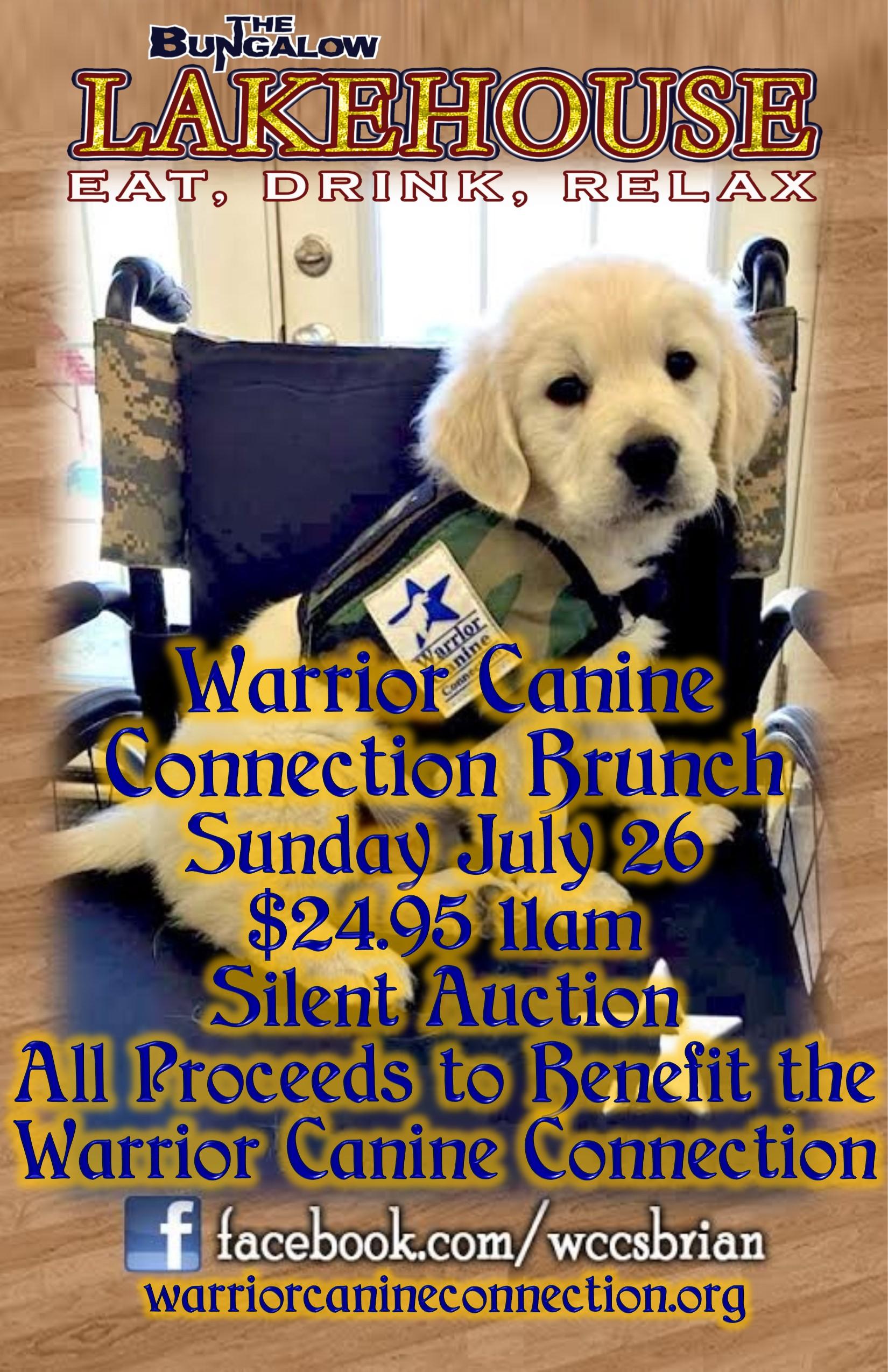 Warrior Canine brunch 2015