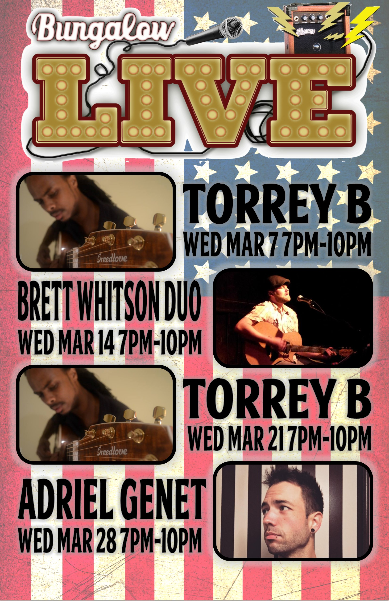 Wed Music March 11x17