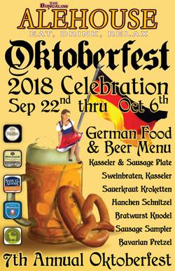 Alehouse Oktoberfest  2018 11x17