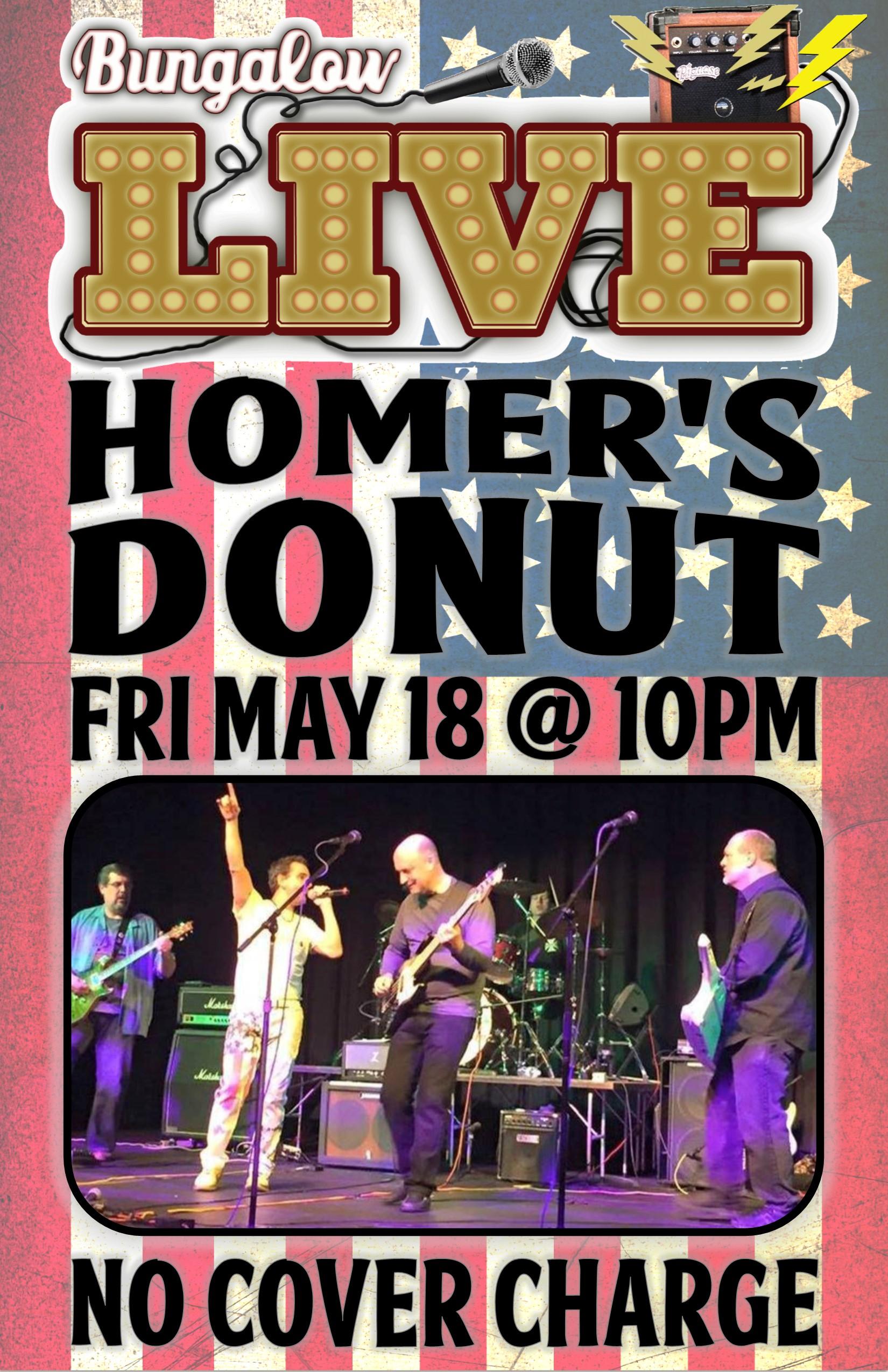 Homer's Donut May 2018