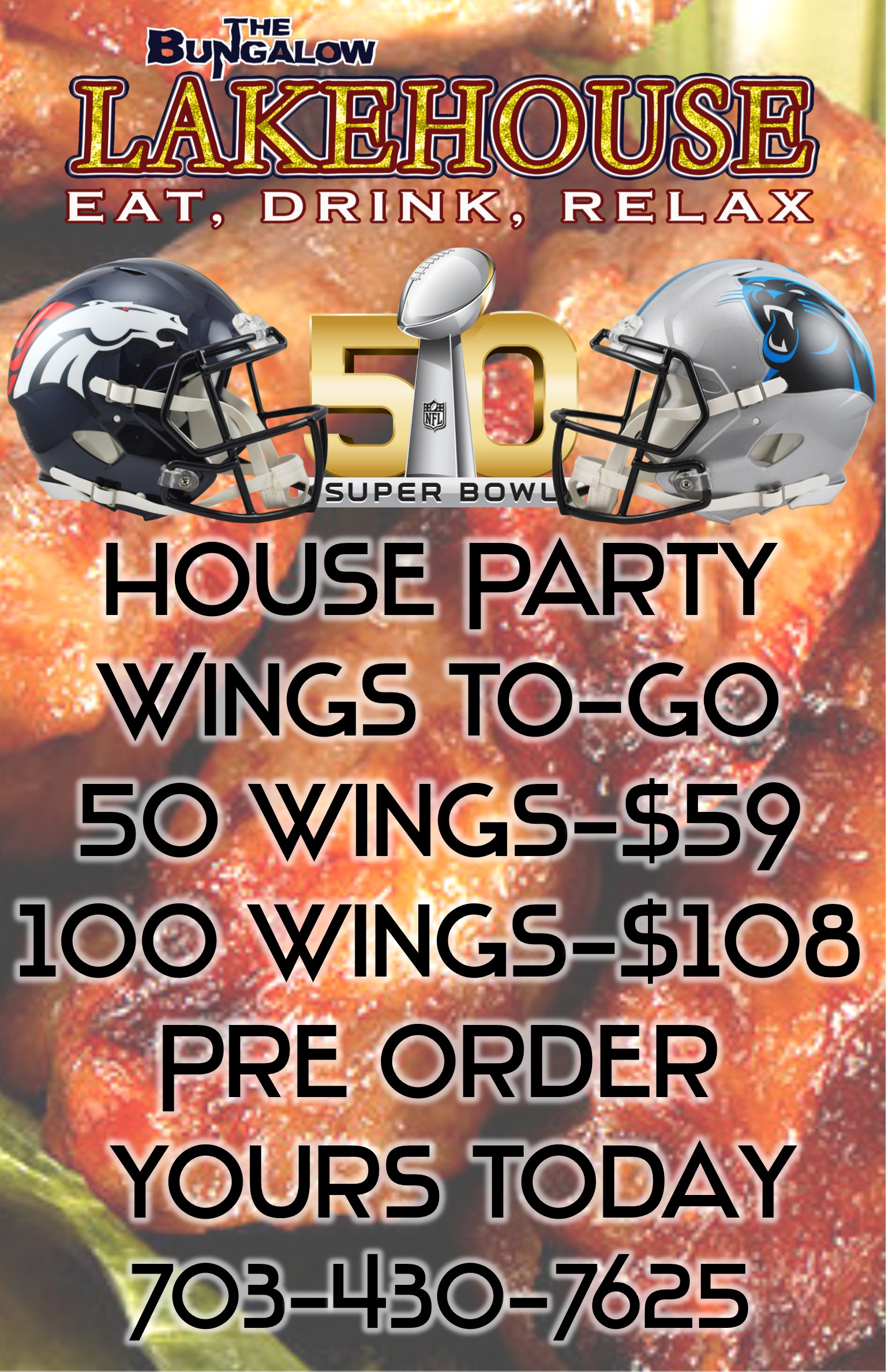lakehouse togo wings super bowl