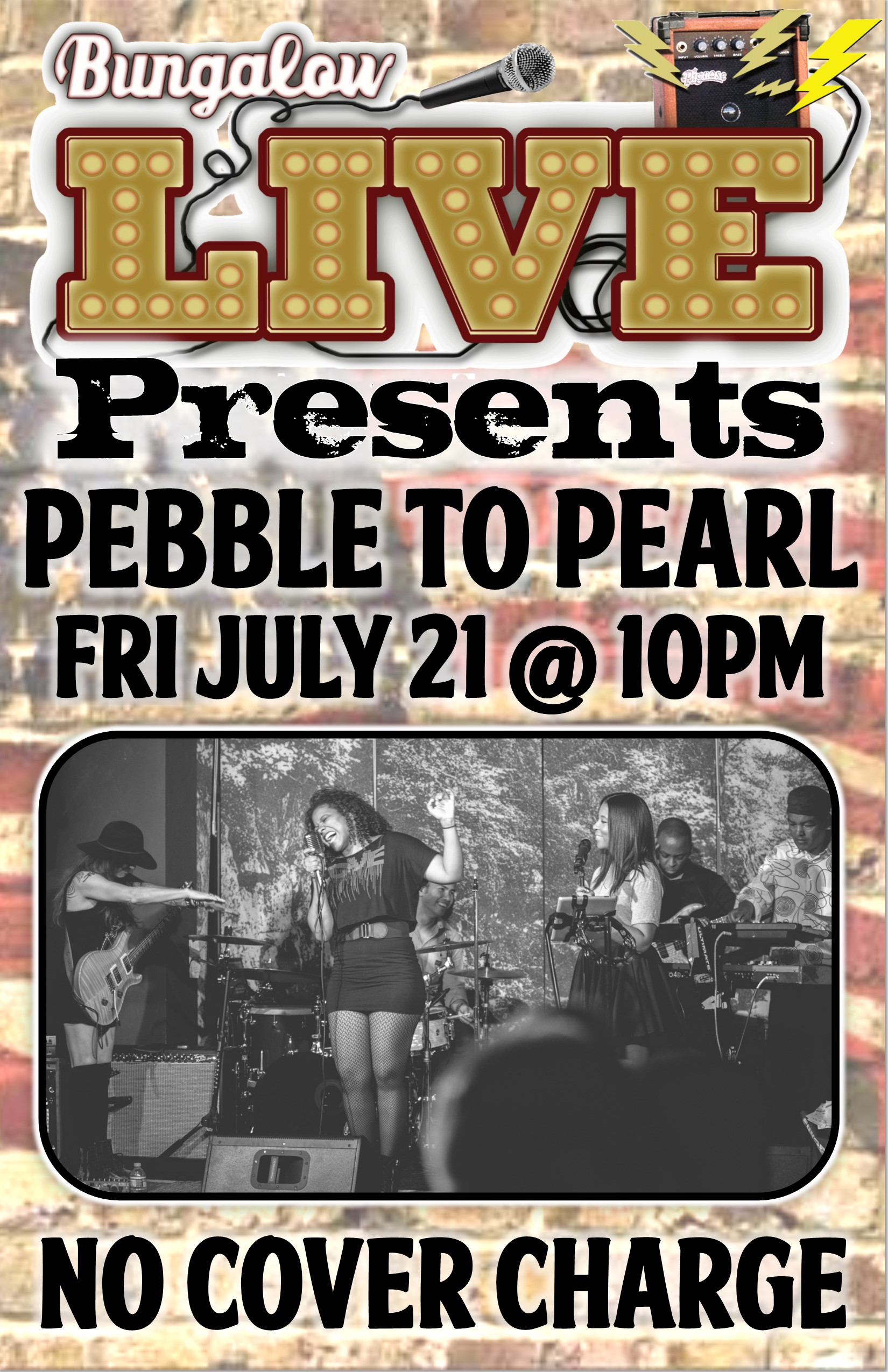 Pebble to Pearl July 2017