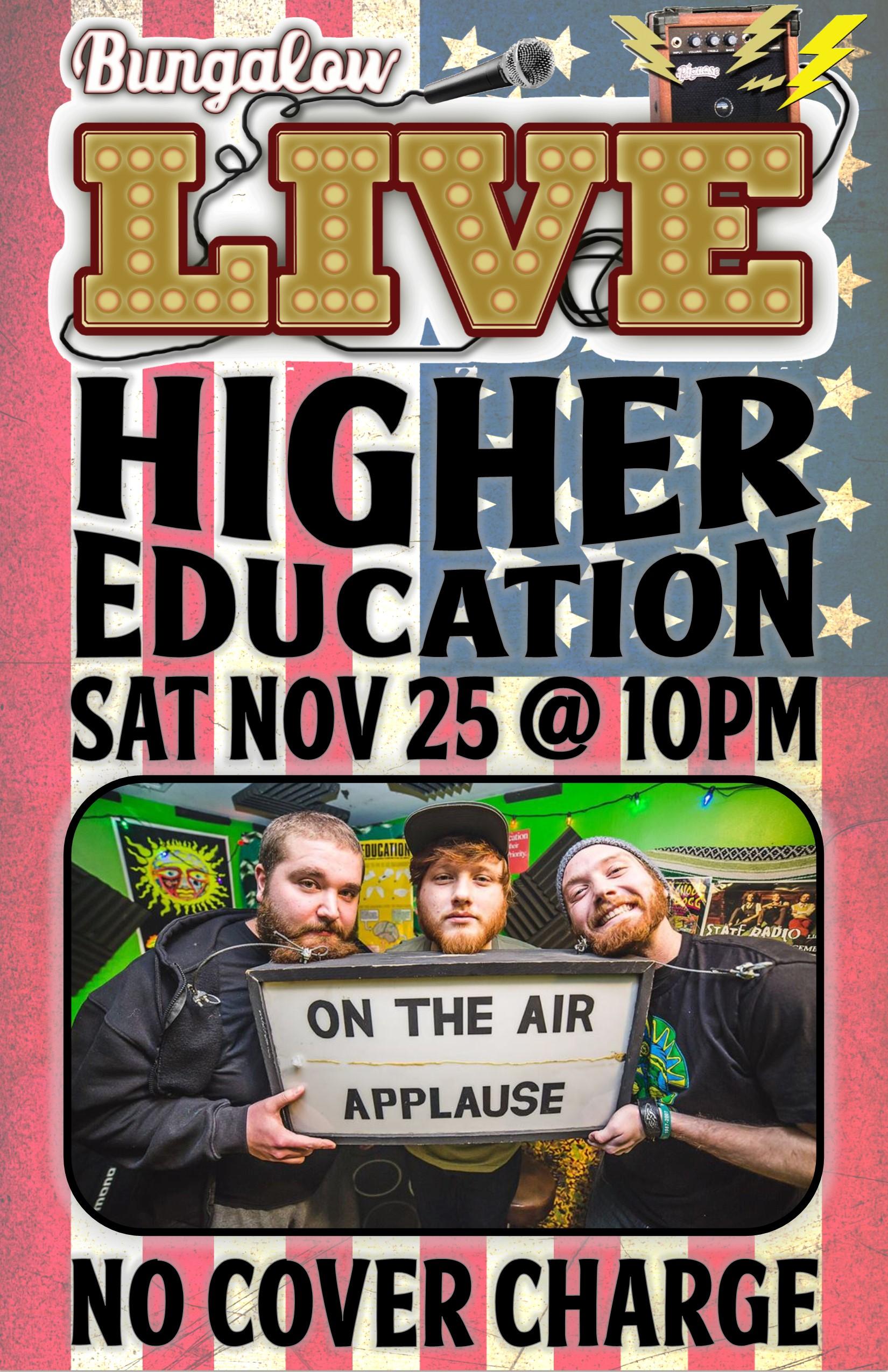 Higher Education Nov 2017
