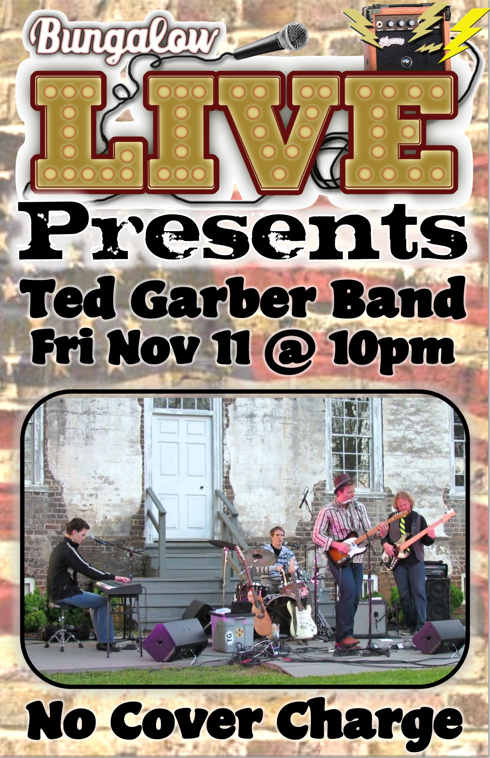 Ted garber band 11X17