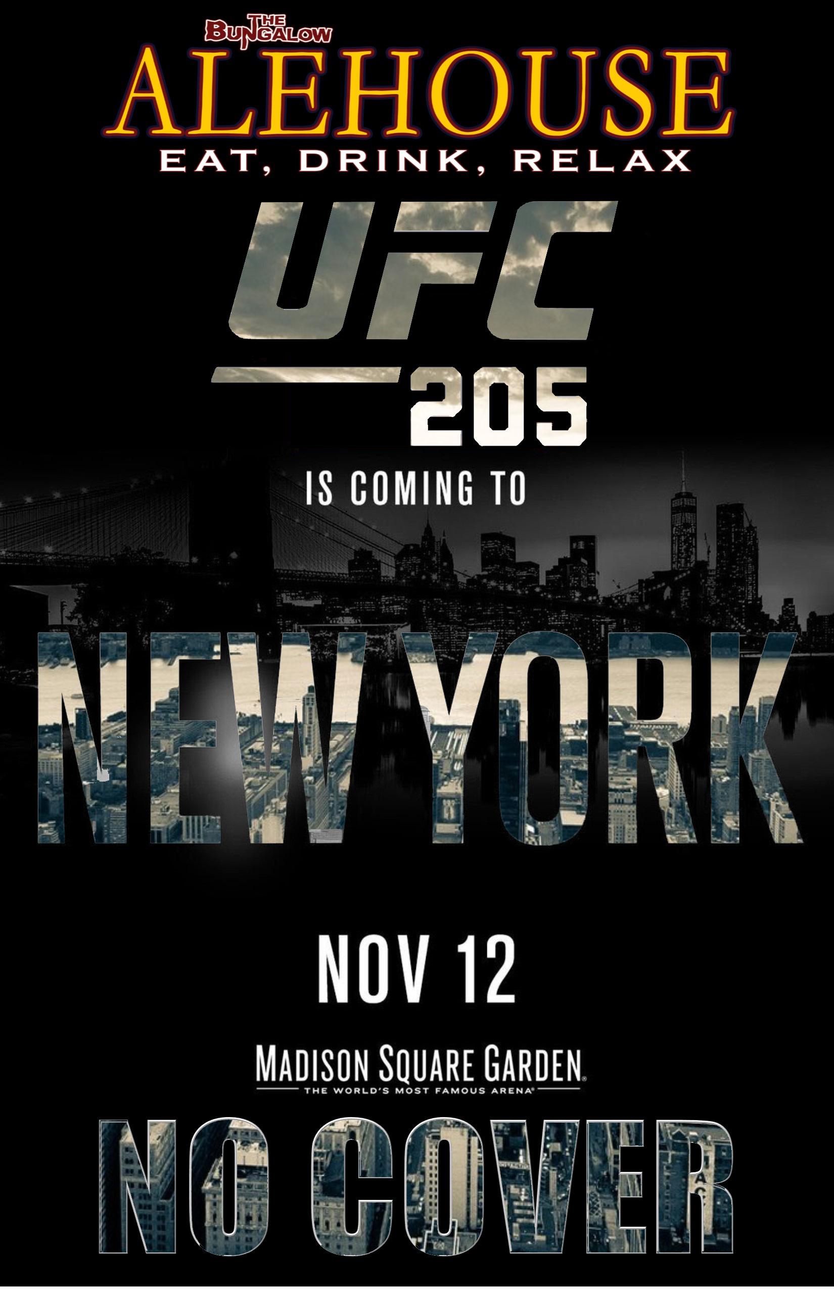 UFC 205 3