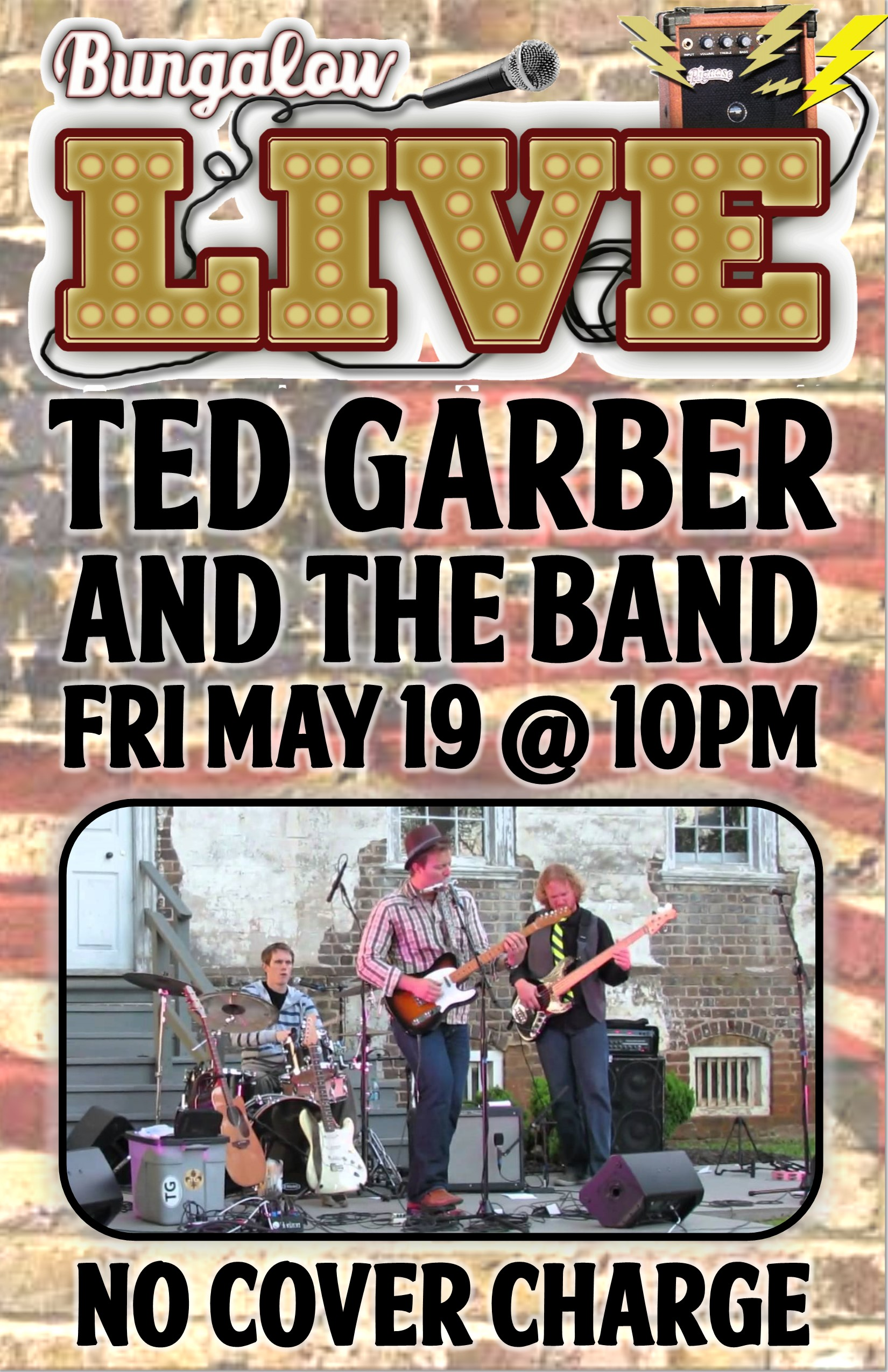 Ted garber band CH 11X17