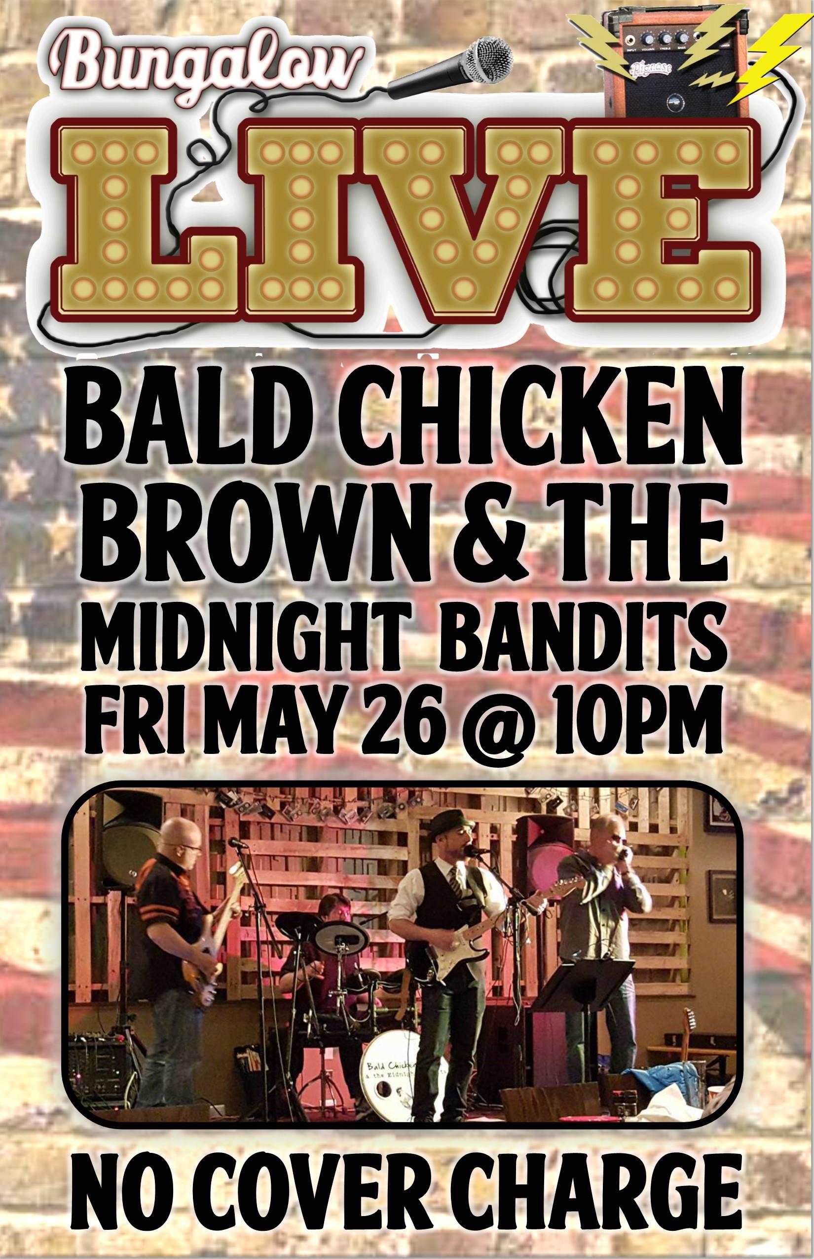 Bald Chicken Brown 11x17
